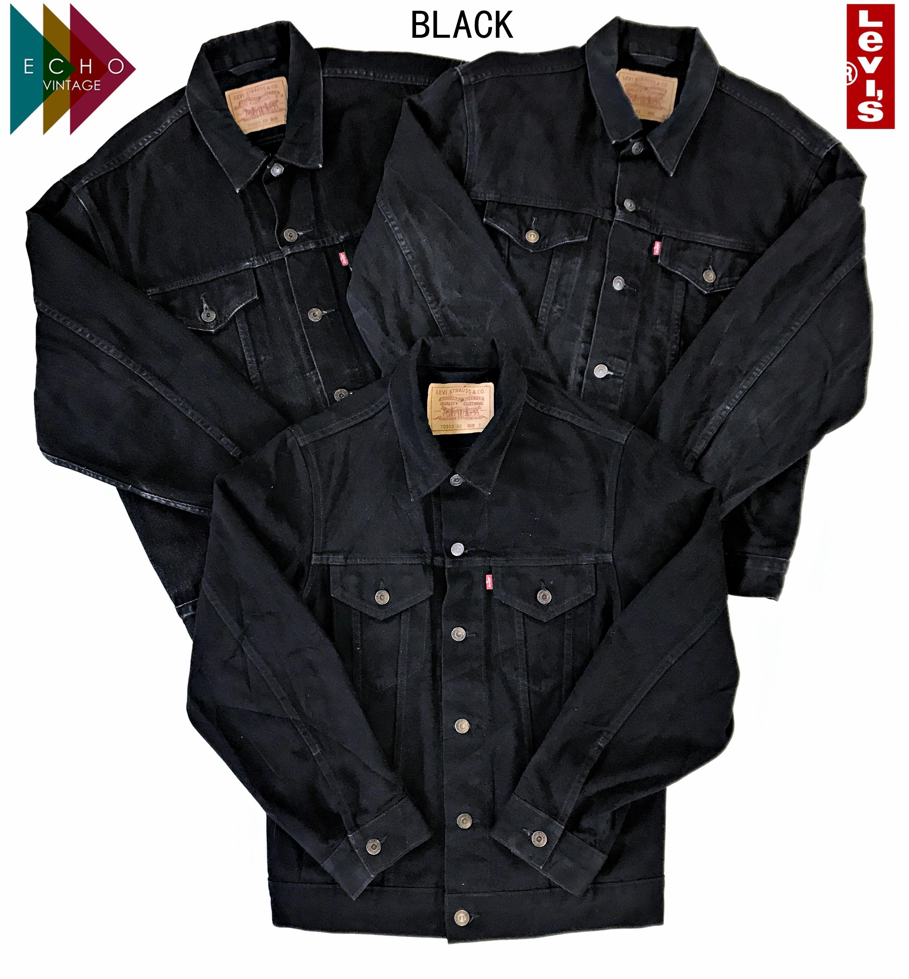 Vintage Levi Levis Denim Jacket Mens Womens Grade A Trucker Xs S M