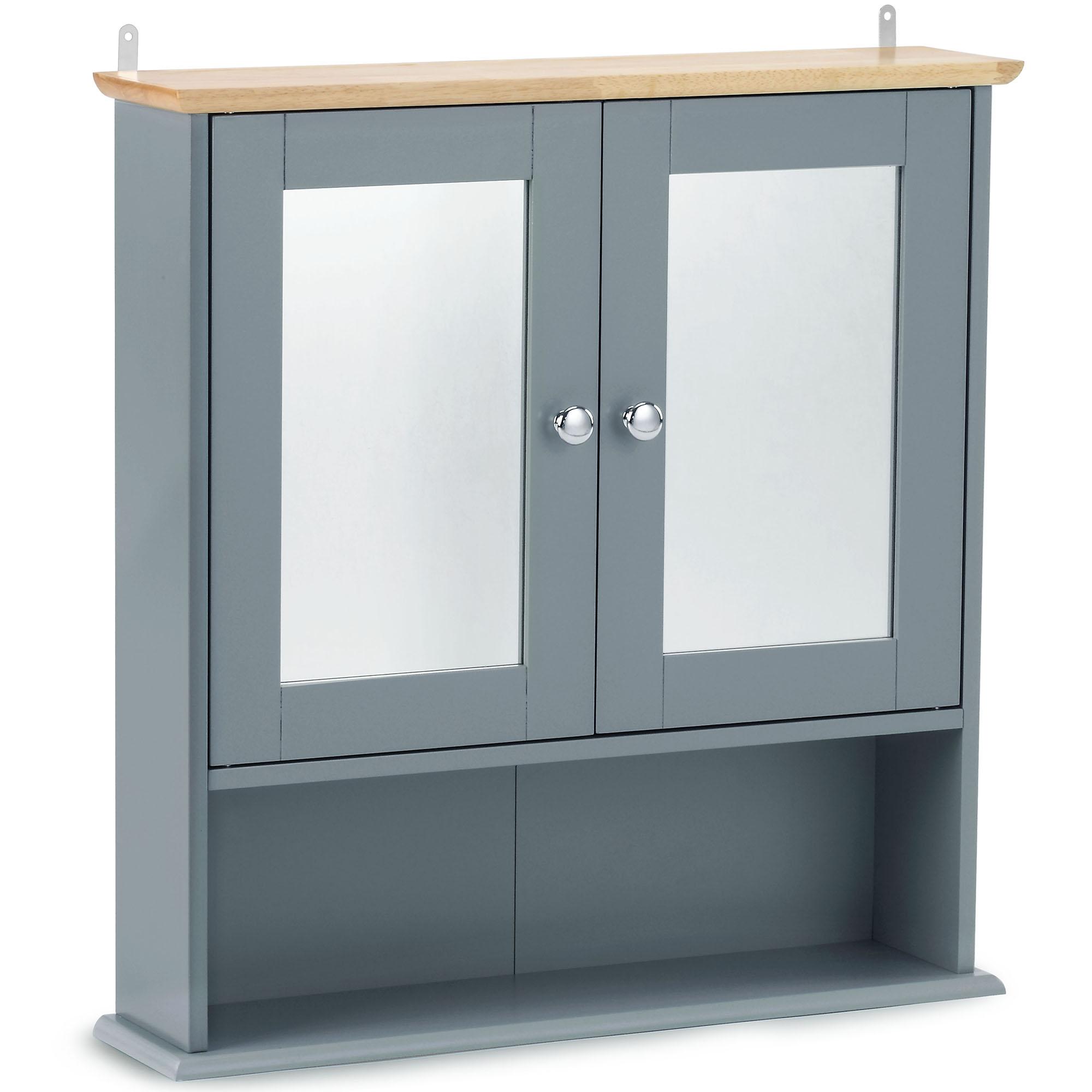 Vonhaus Bathroom Wall Cabinet Storage