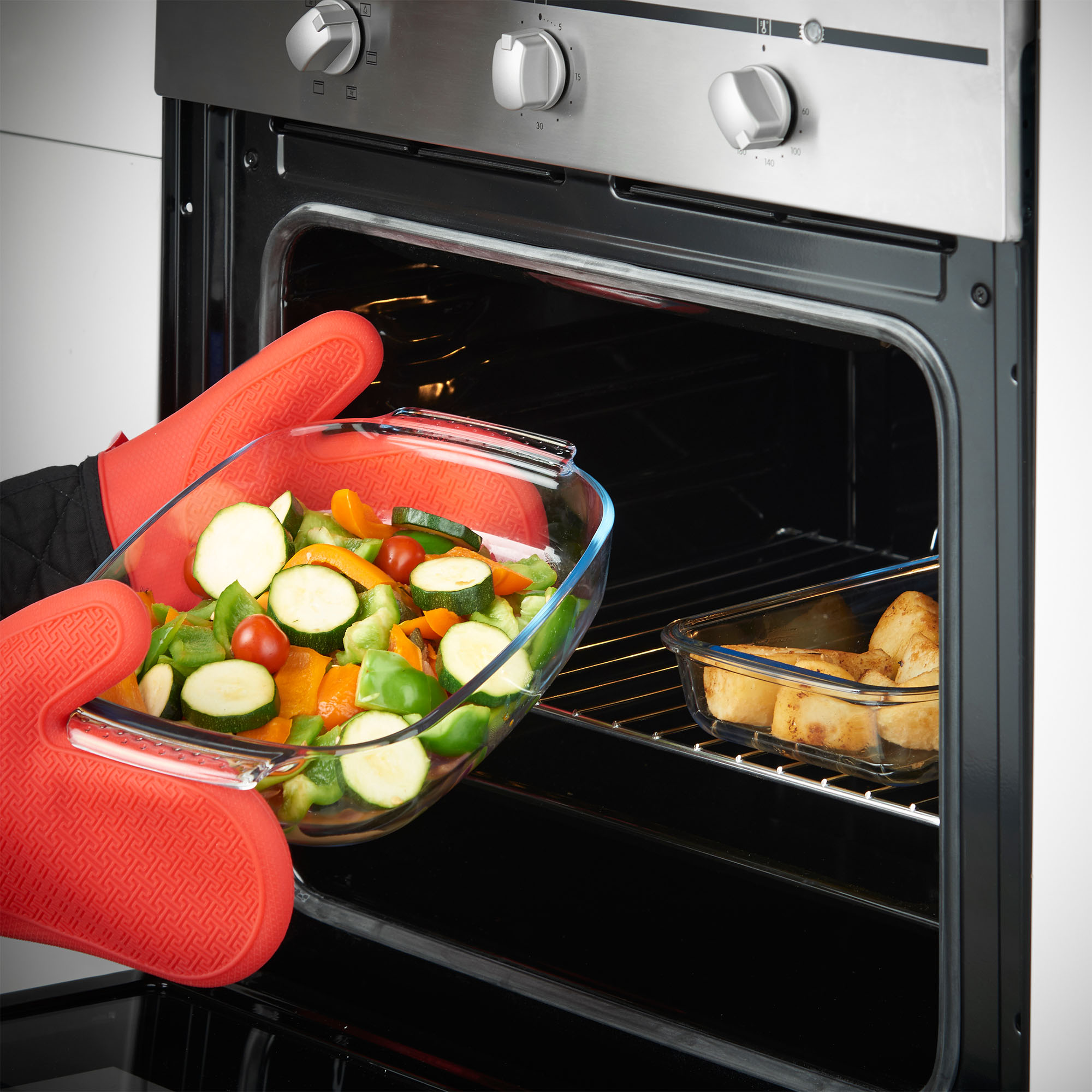 how to set oven for baking