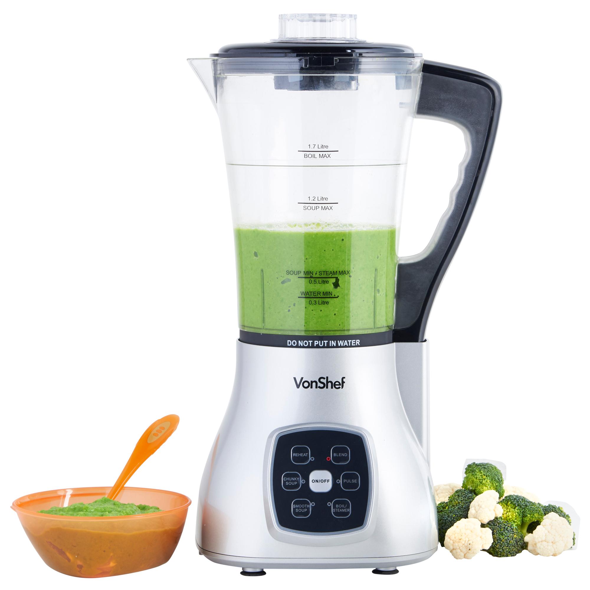 vonshef soup maker blender juicer smoothie machine. Black Bedroom Furniture Sets. Home Design Ideas