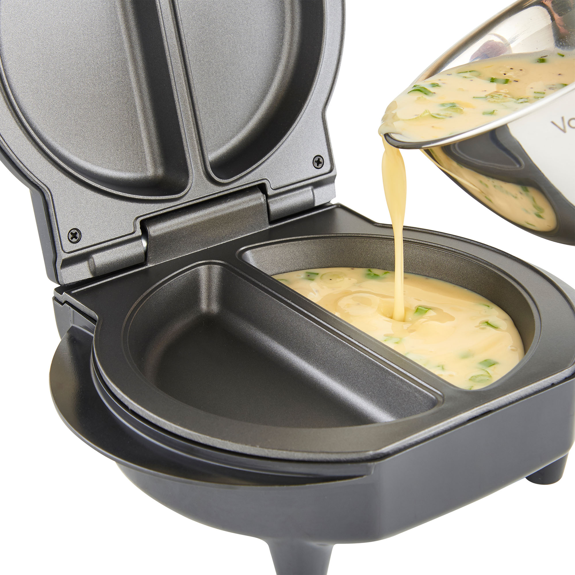Vonshef Omelette Maker Electric Non Stick Egg Fryer Pan