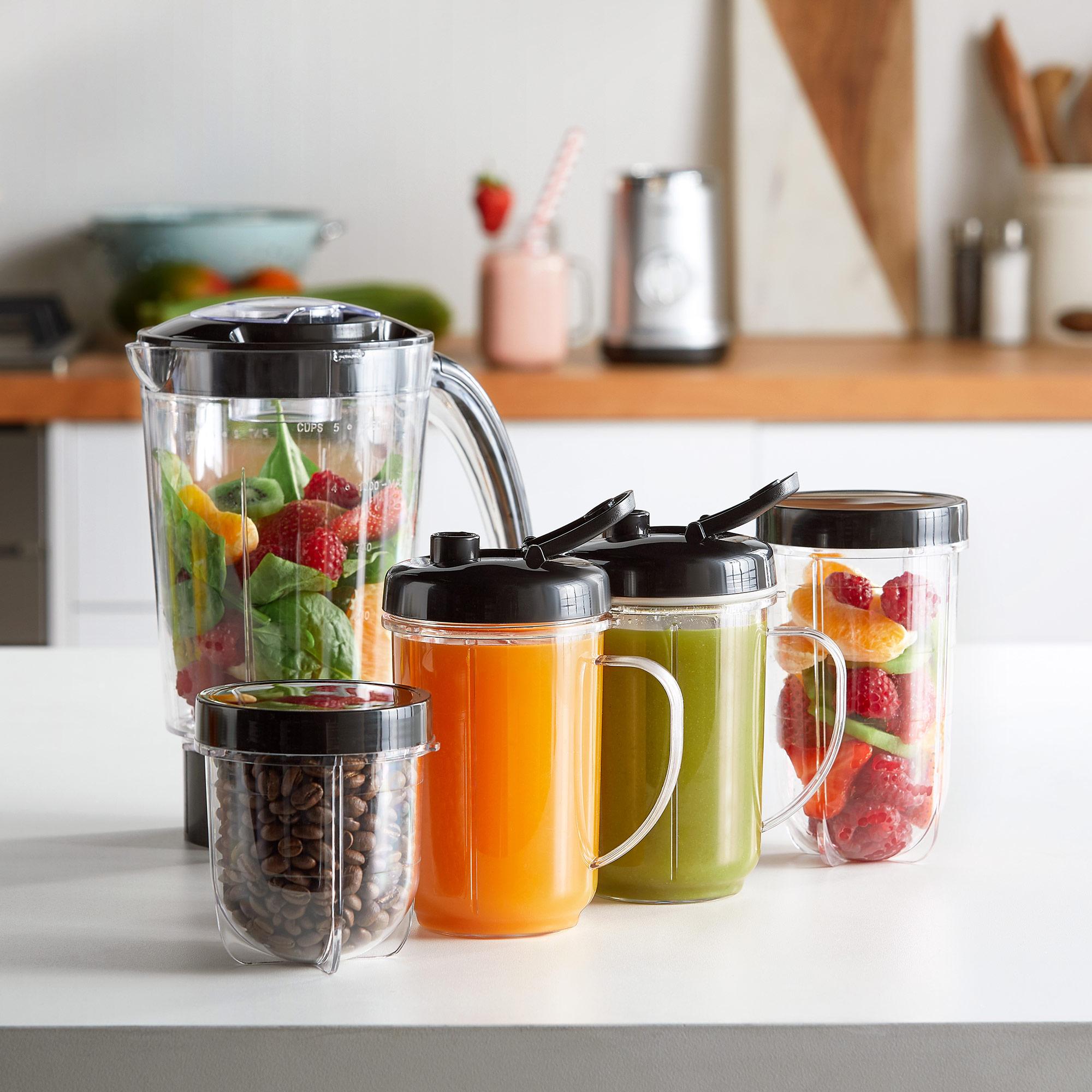 Details about VonShef Blender 4 in 1 Smoothie Maker Food Fruit Juicer Coffee Grinder 1L Jug