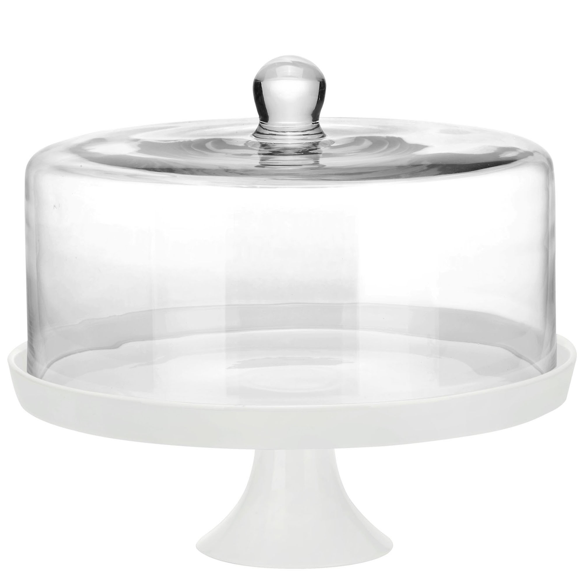 Large Cake Stand With Dome