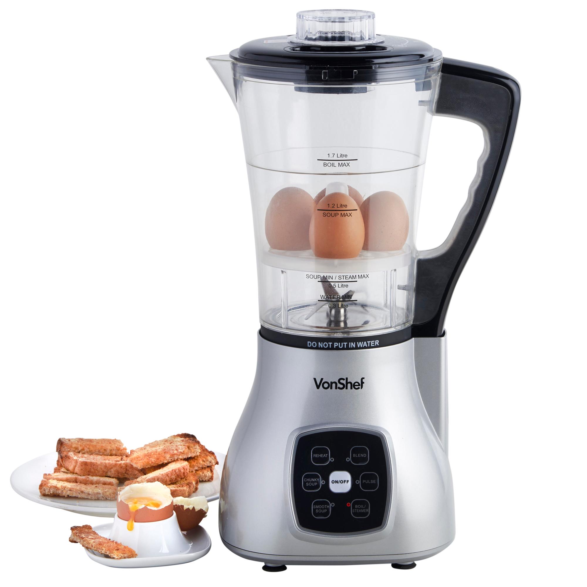 VonShef Soup Maker Blender Juicer Smoothie Machine