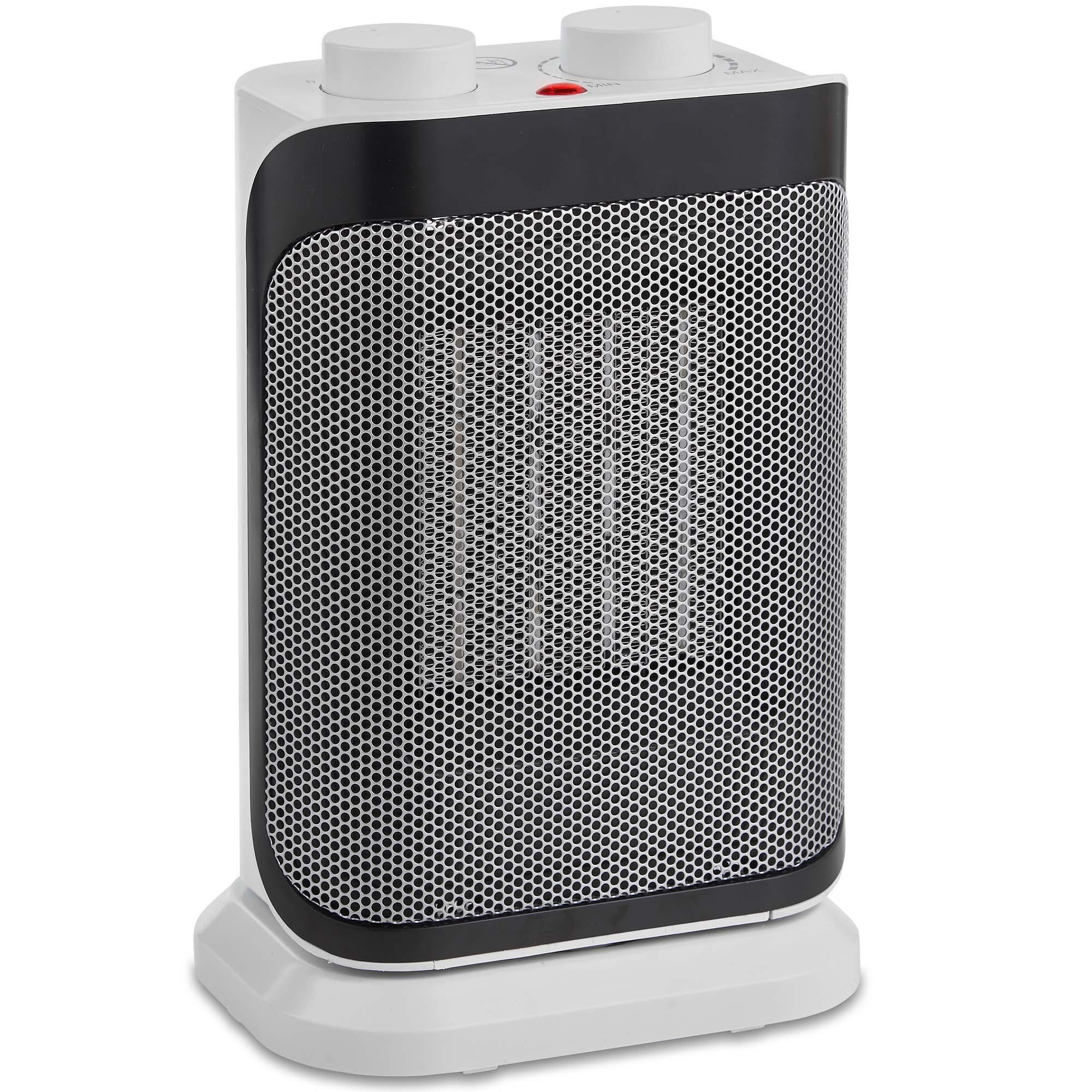 Vonhaus 1500w Fan Heater Oscillating Electric Ceramic Ptc