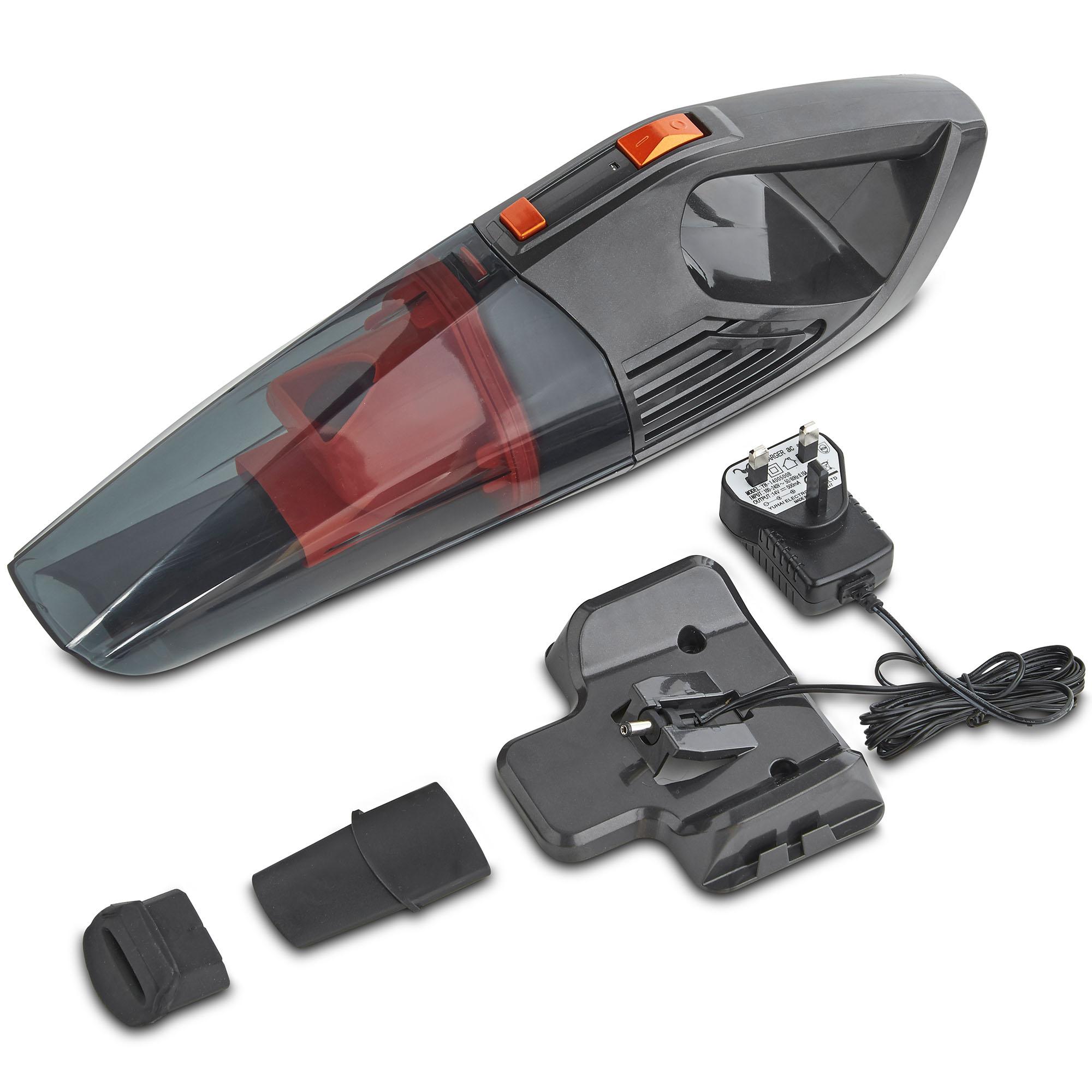 vonhaus 11 1v handheld vac wet dry car van cordless bagless vacuum cleaner ebay. Black Bedroom Furniture Sets. Home Design Ideas