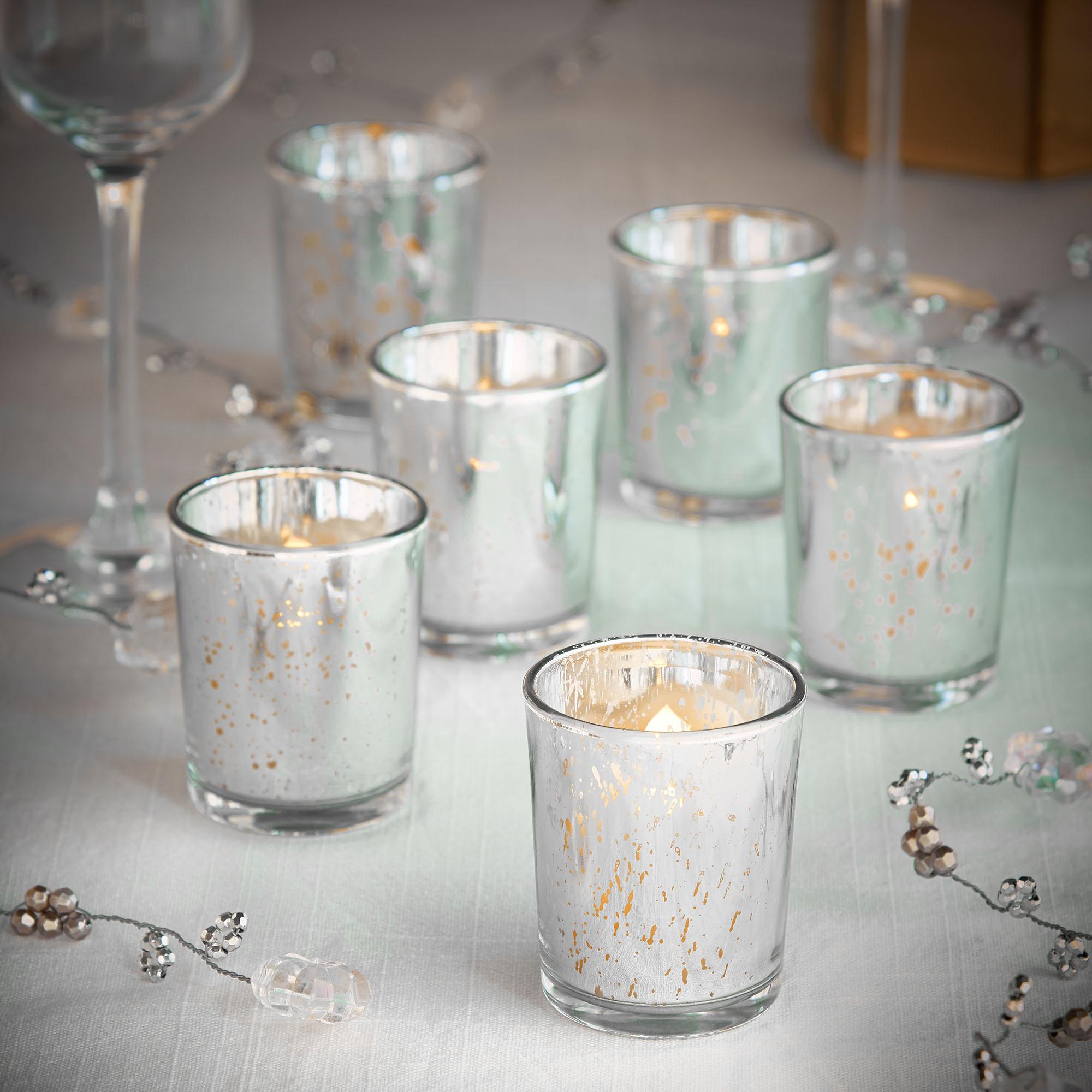 Vonhaus Flameless Vintage Led Battery Tea Light Candles