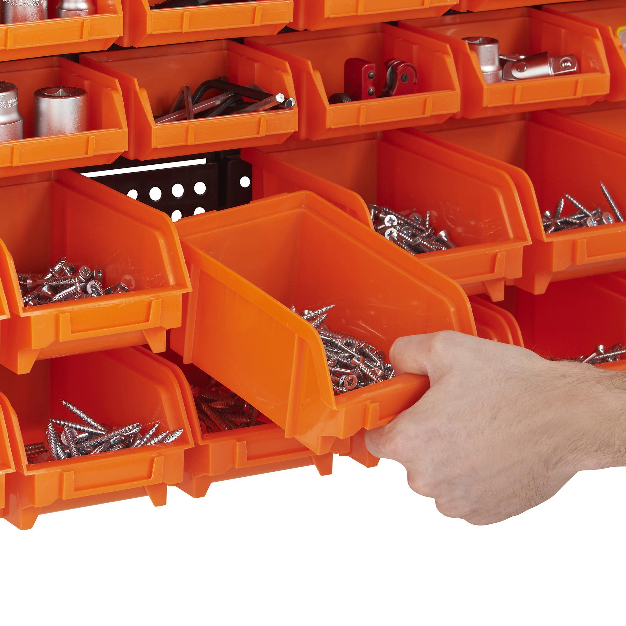 Sentinel VonHaus 30pc Wall Storage Bin Set