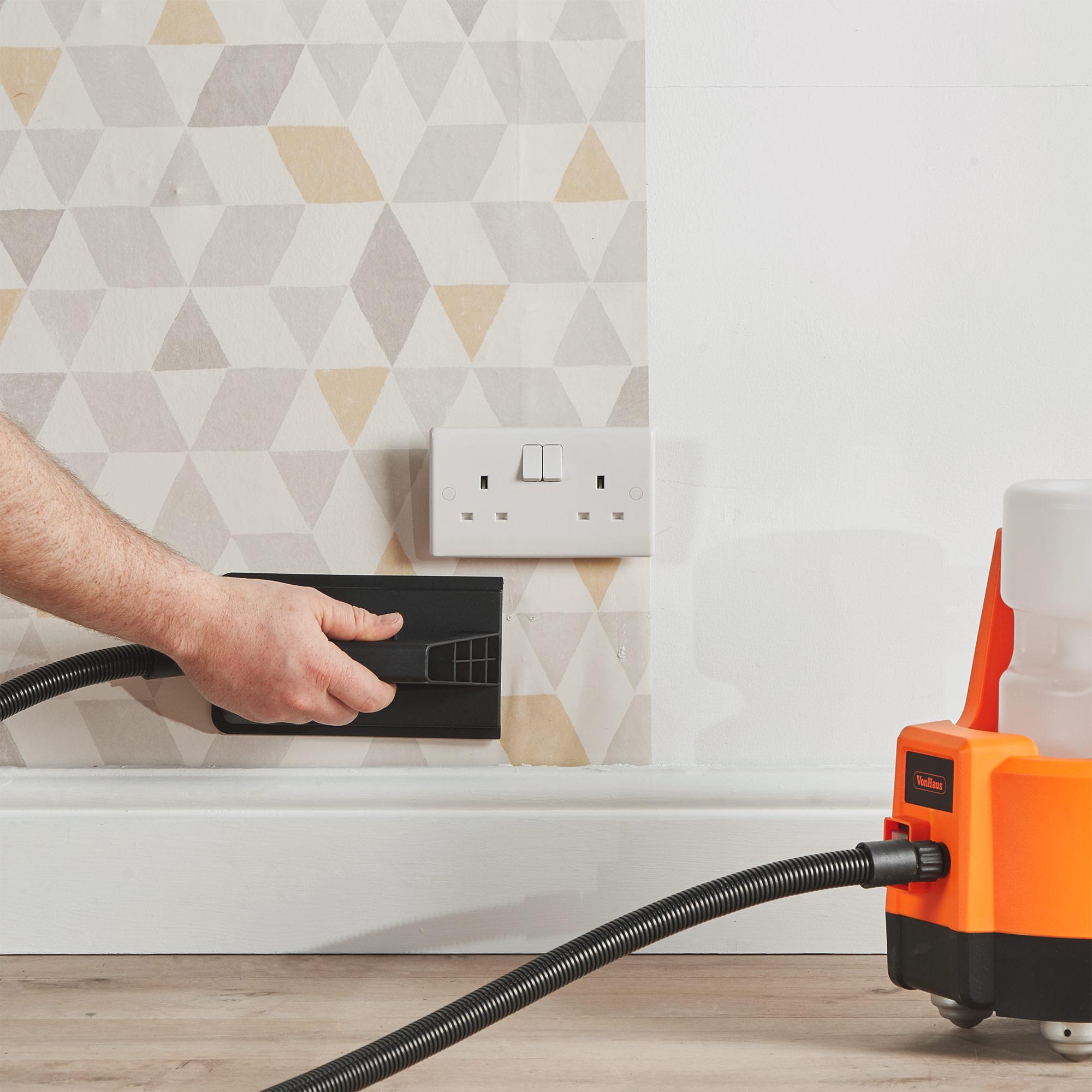VonHaus Wallpaper Steamer//Stripper//Remover with Fast 2 Min Heat Up FAST