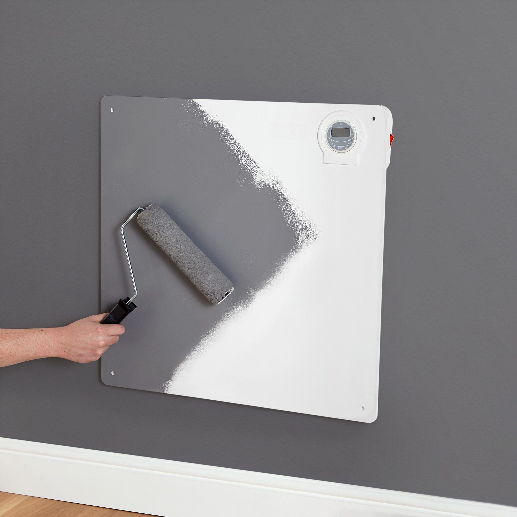 Vonhaus Electric Panel Heater Freestanding Wall Mounted Timer Amp Thermostat Ebay