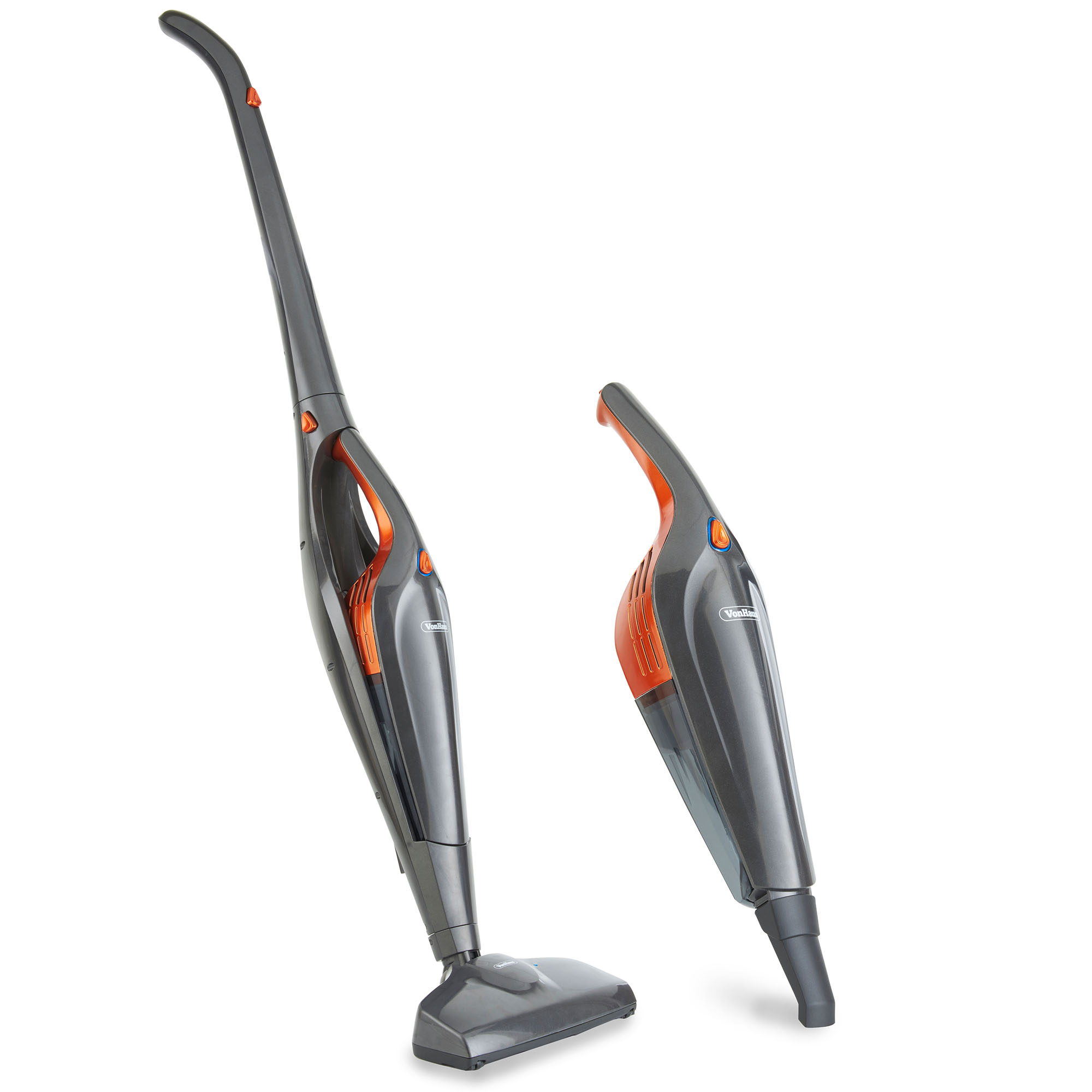 vonhaus 2 in 1 cordless vacuum cleaner 150w power 25 6v lithium ion battery 5056115700309 ebay. Black Bedroom Furniture Sets. Home Design Ideas