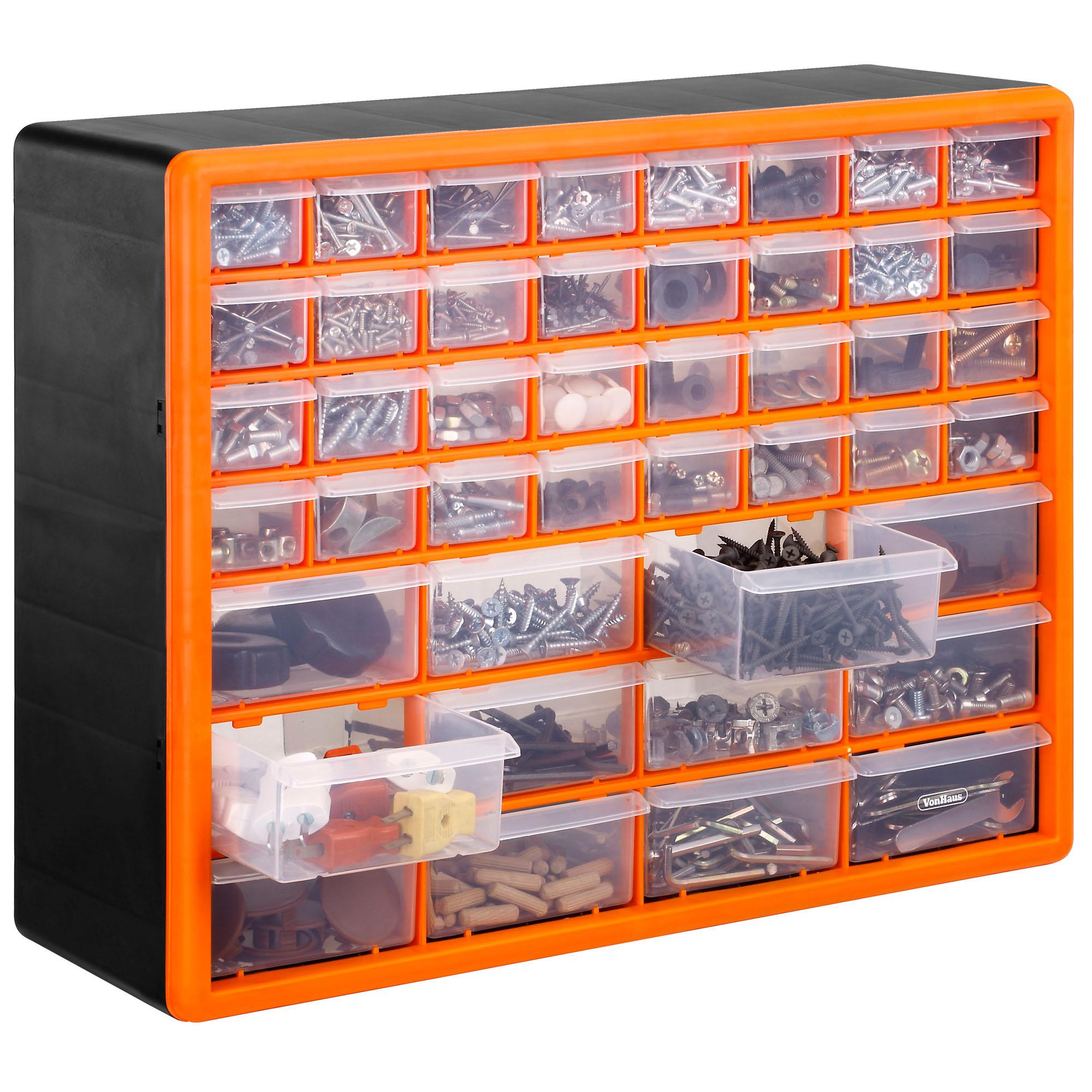 Vonhaus 44 Multi Drawer Organiser Nail Bolt Screw Craft