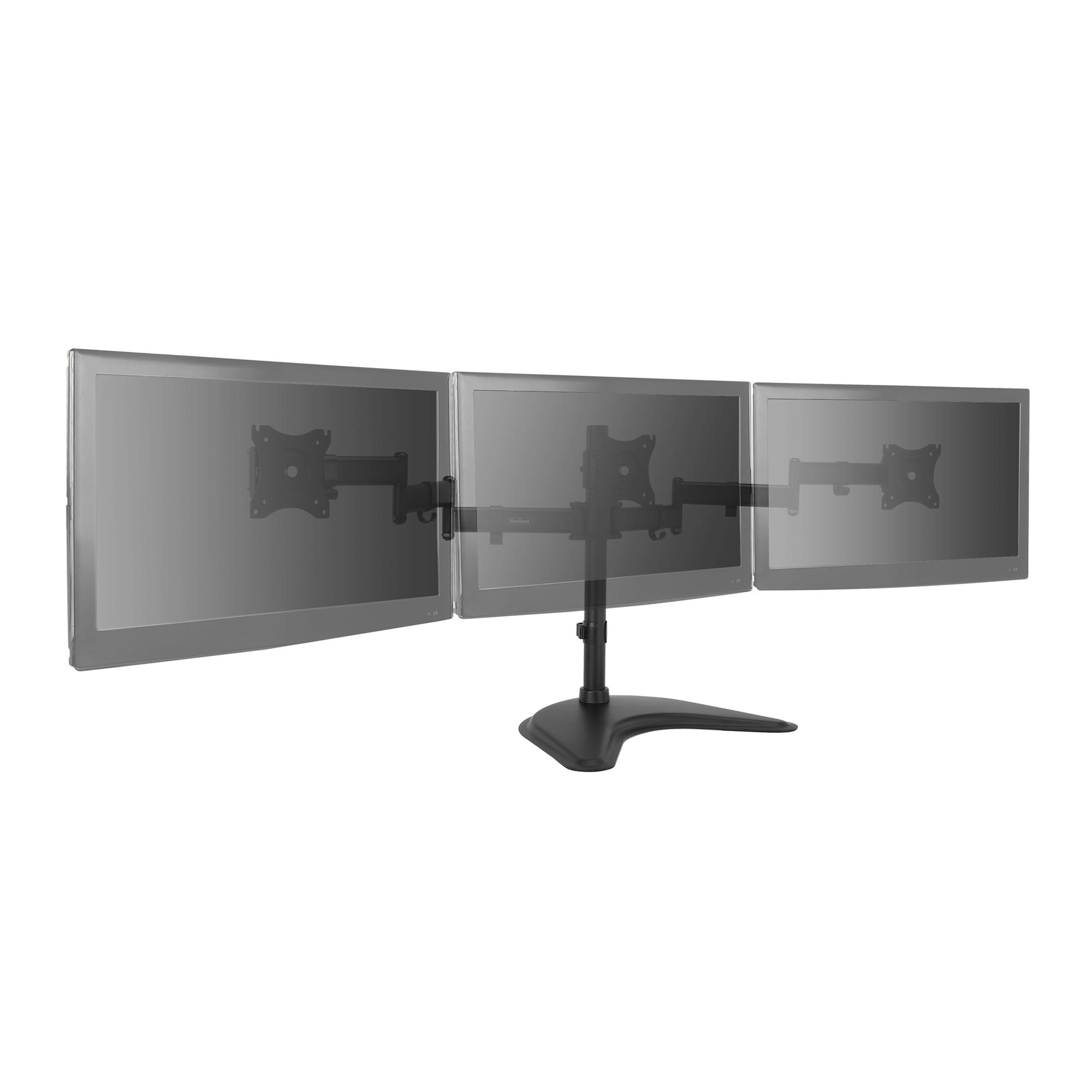 Vonhaus Triple Arm Monitor Mount For 13 27 Screens Three