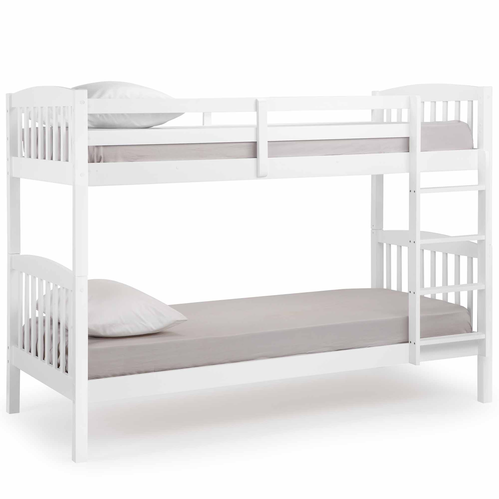 Vonhaus Pine Bunk Bed Stylish Children S Bedroom Furniture 2
