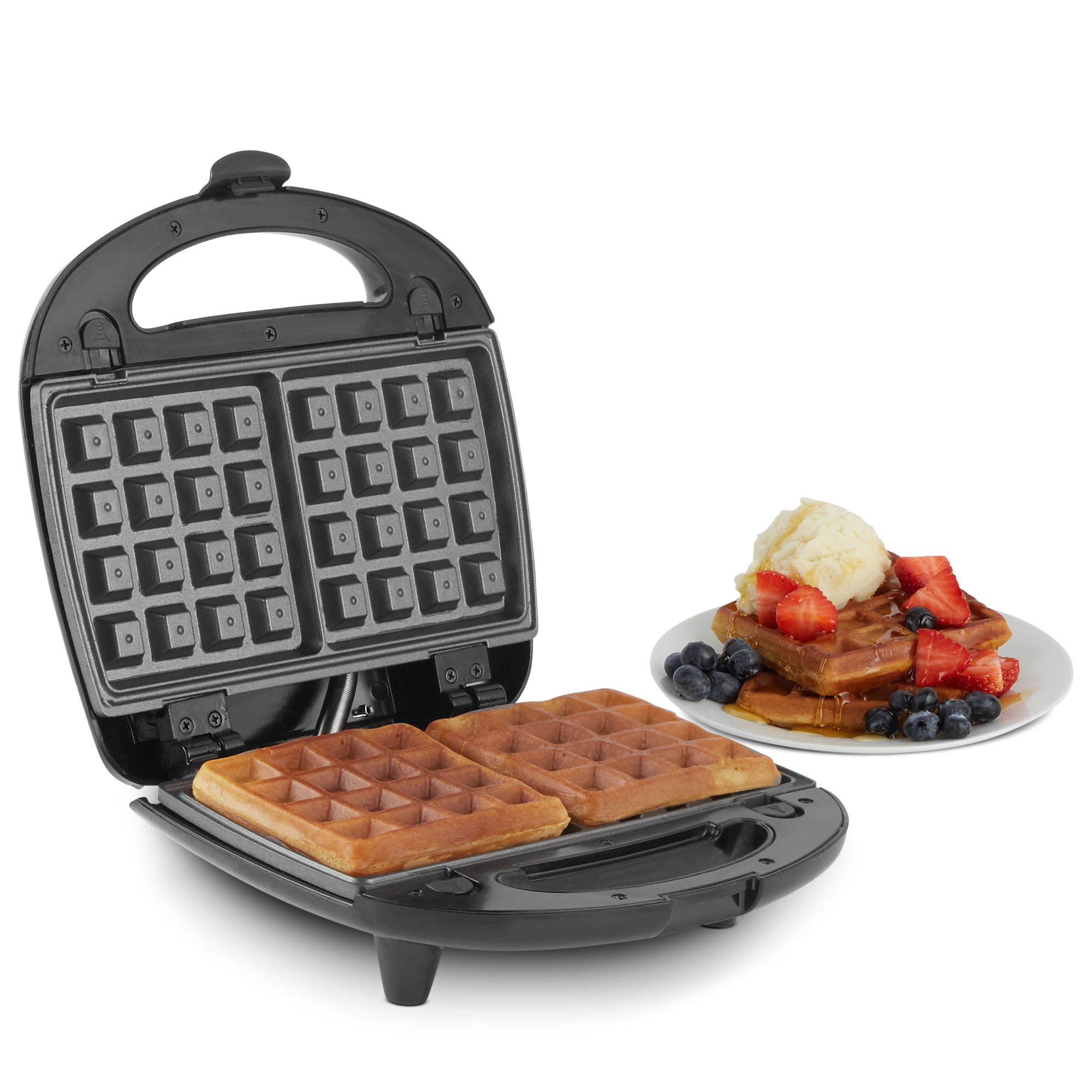 vonshef sandwich toaster waffle maker iron toastie grill. Black Bedroom Furniture Sets. Home Design Ideas