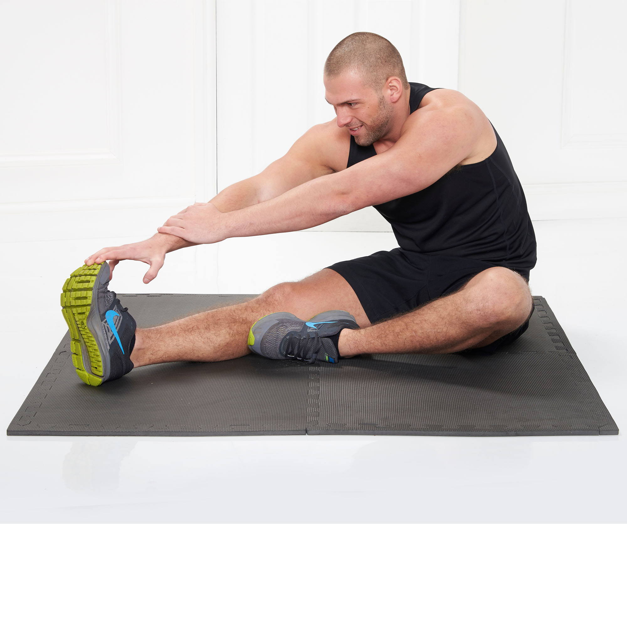 Gym Equipment Gold Coast: Gold Coast Interlocking Gym Floor Mats Thick EVA Foam 16