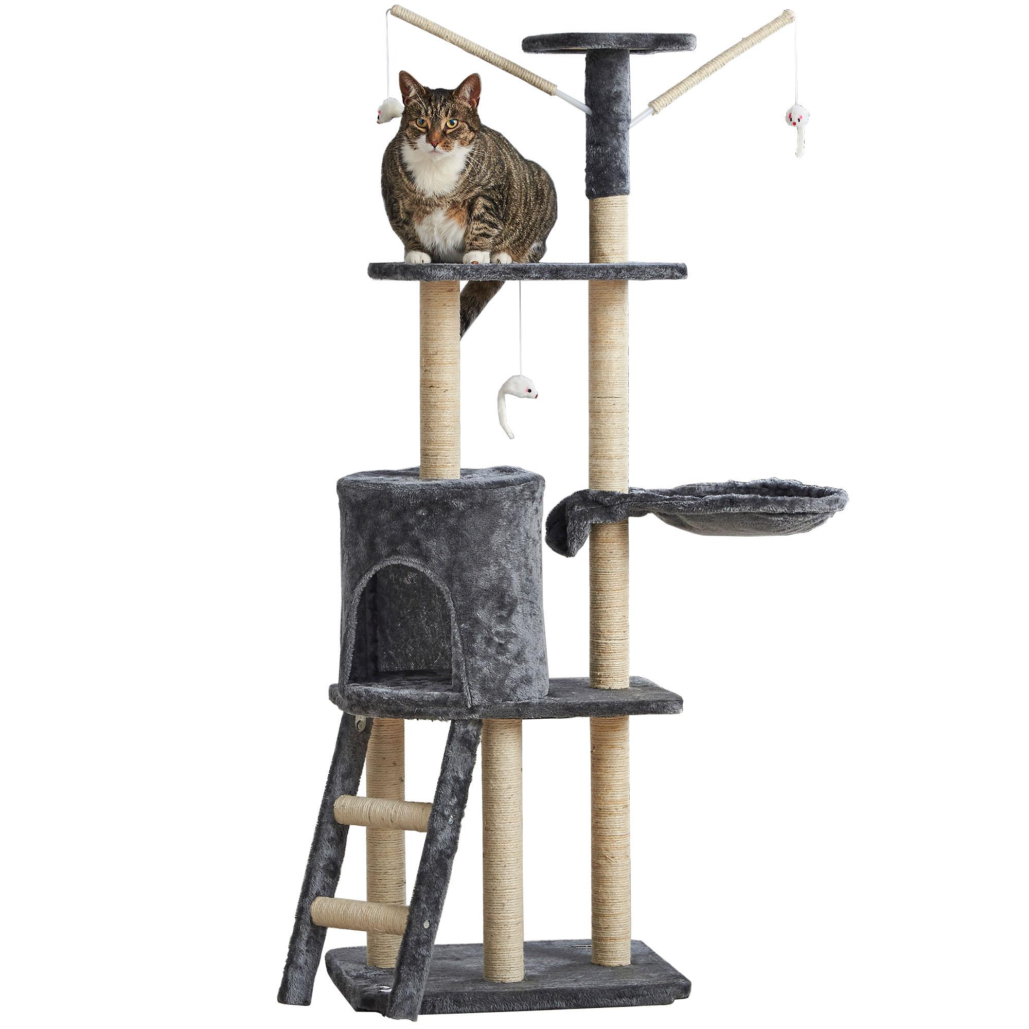 milo misty cat scratcher sisal scratching post pet play. Black Bedroom Furniture Sets. Home Design Ideas