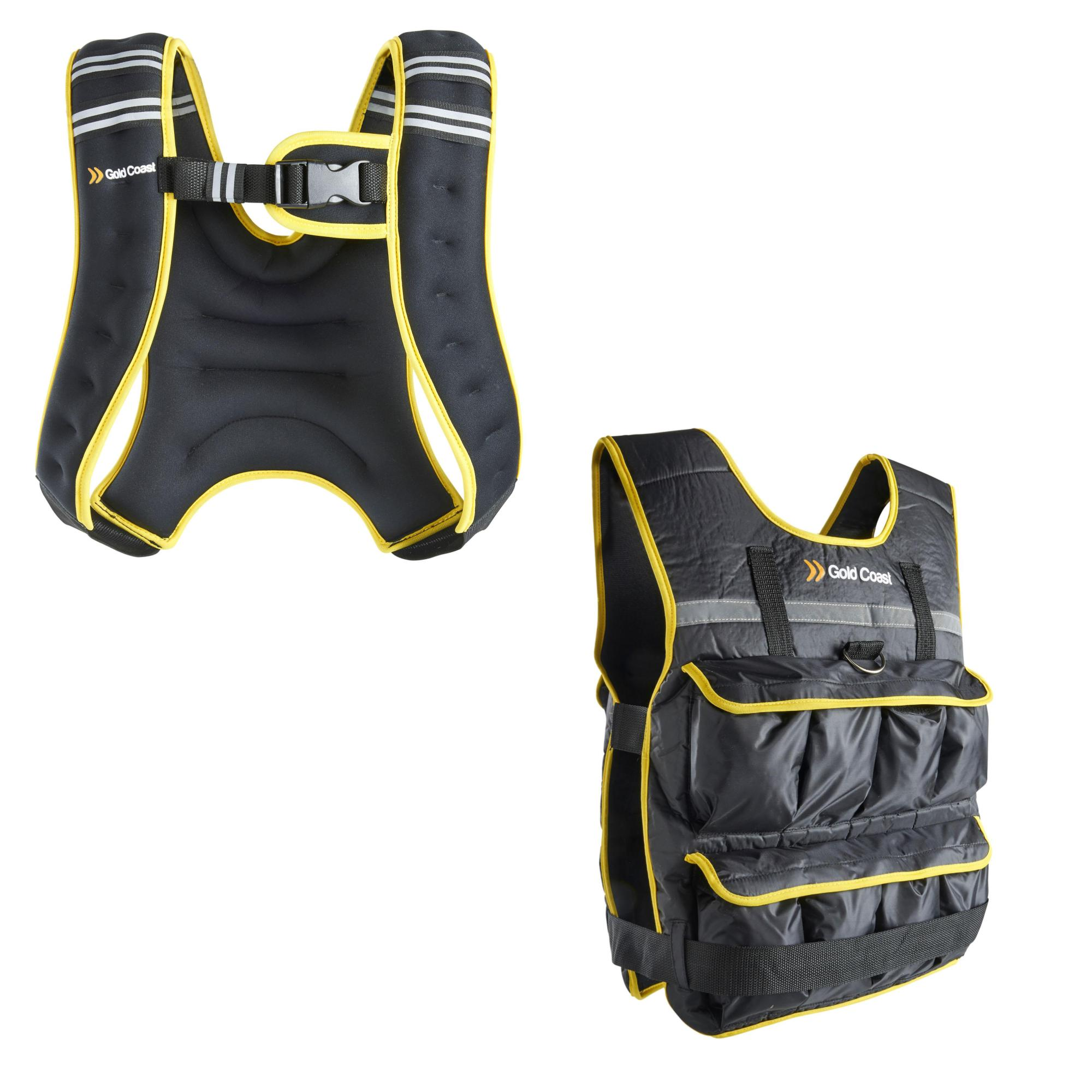 52b538aa Sentinel Gold Coast 5, 10, 20kg Adjustable Weight Vest – Ideal for Running,  Training