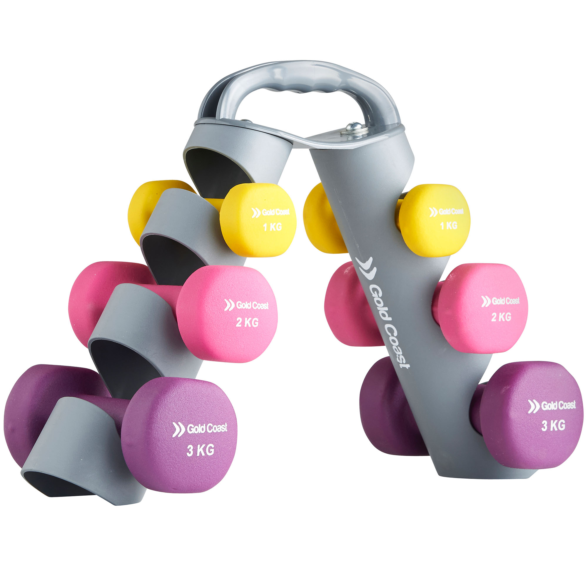 9a4b6c076e2 Sentinel Gold Coast 12kg Dumbbell Hand Weights Set Weight Training Gym  Fitness Workout
