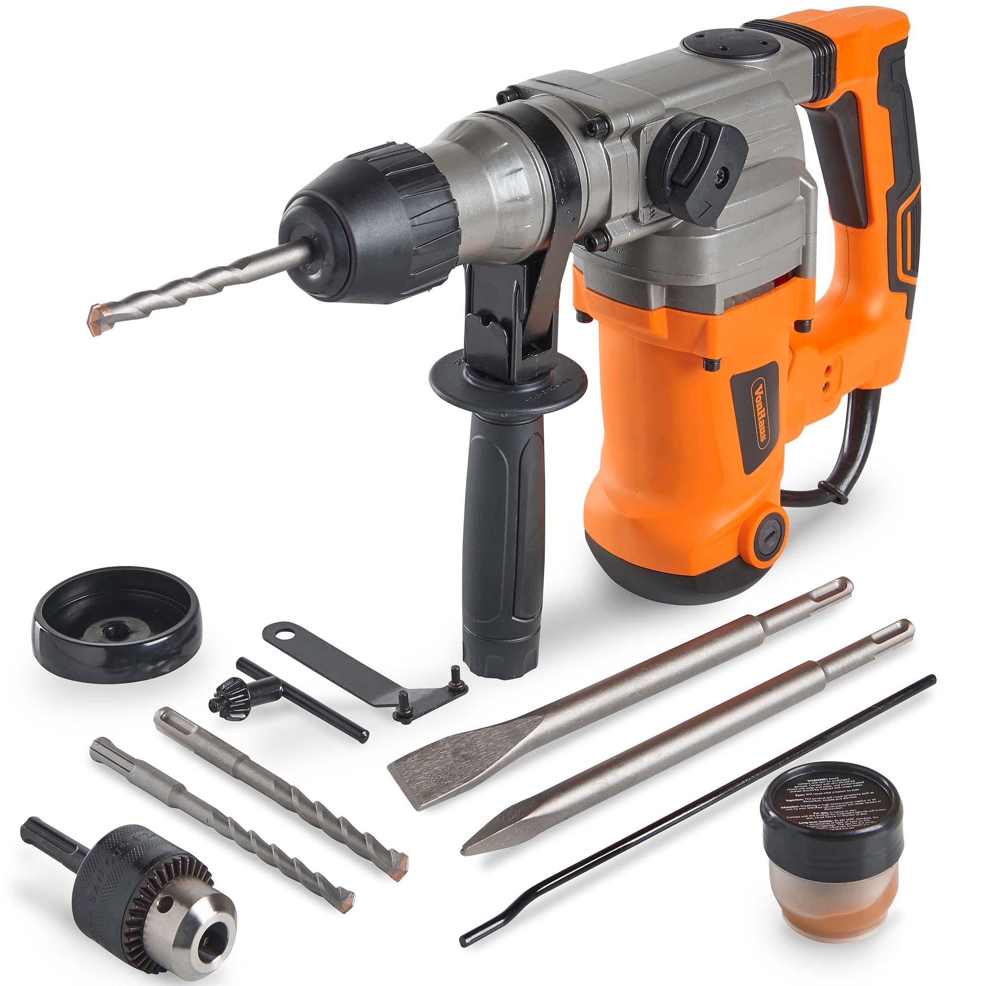Drill and hammer drill tungsten paint scraper