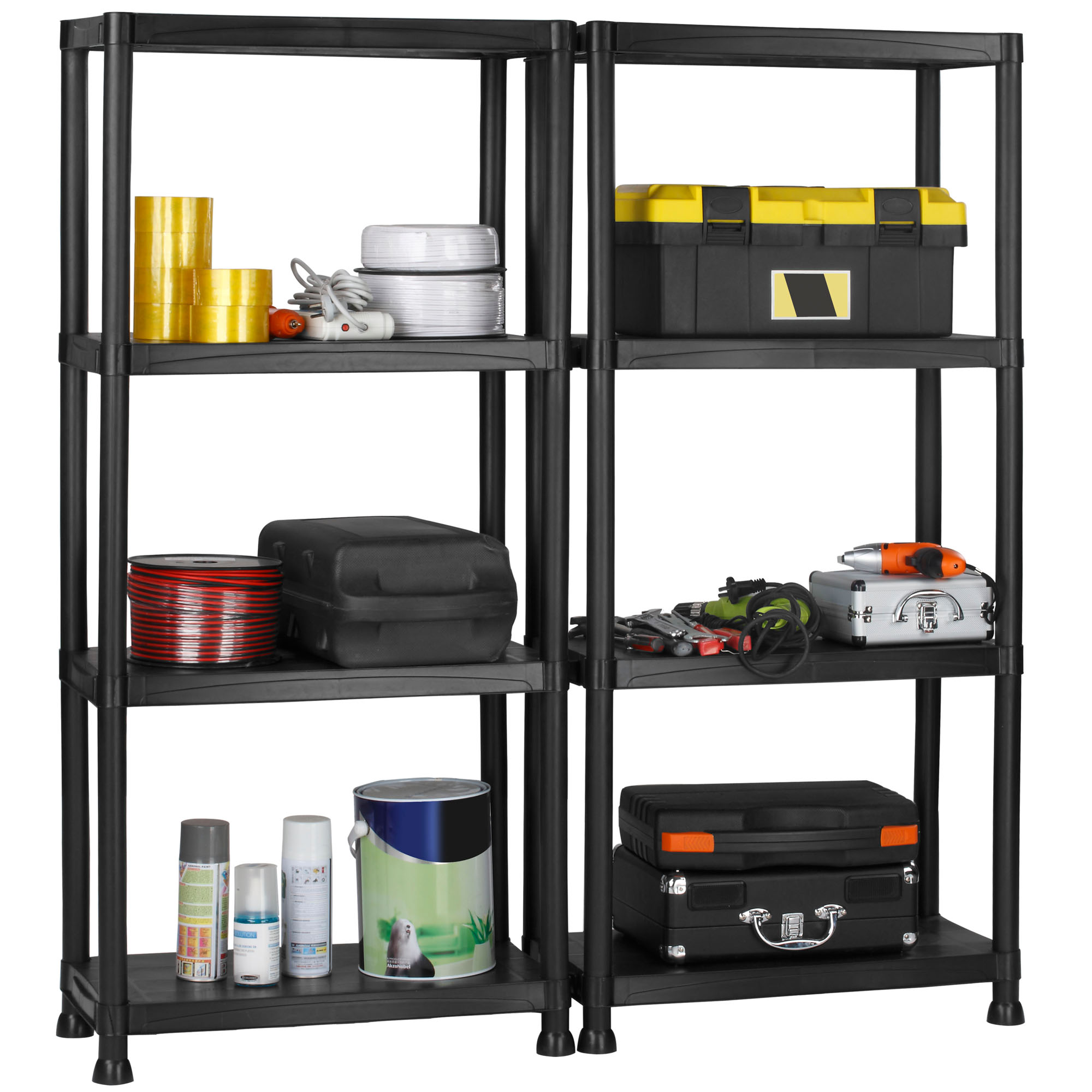 on brackets after how cheap build garage h storage the shelf shelves plans for home to