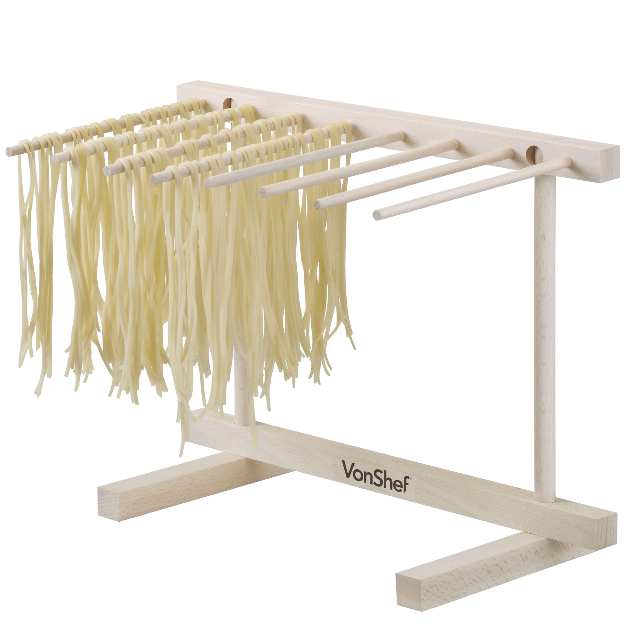 VonShef Collapsible Pasta & Spaghetti Drying Rack Stand