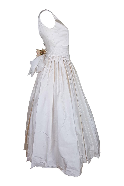 Blue strawberry silk vintage style wedding dress 12 ebay sentinel blue strawberry vintage style silk wedding dress 12 junglespirit Images
