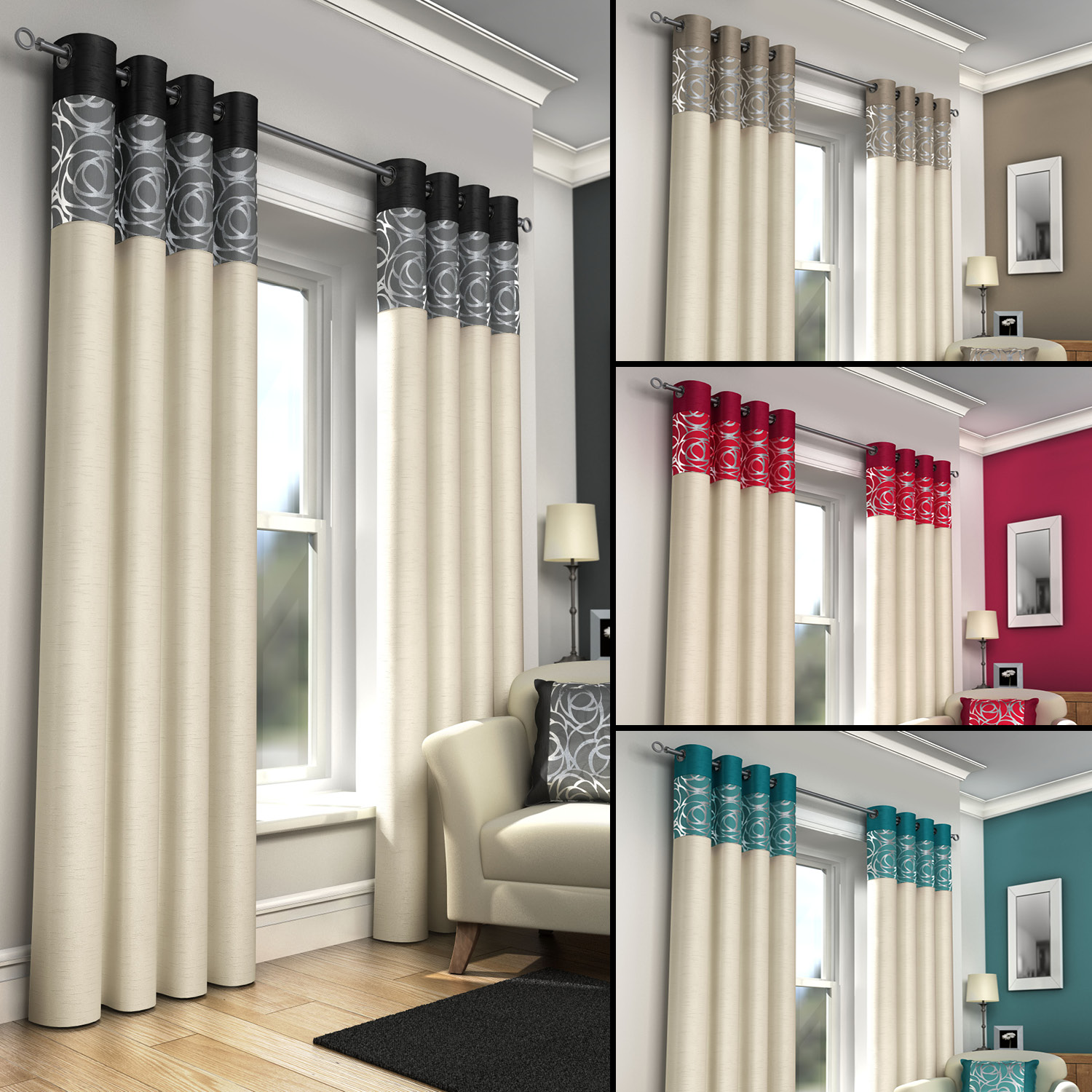 delivery ready curtains products curtain made uk balmoral thermal fabrics interlined natural terrys