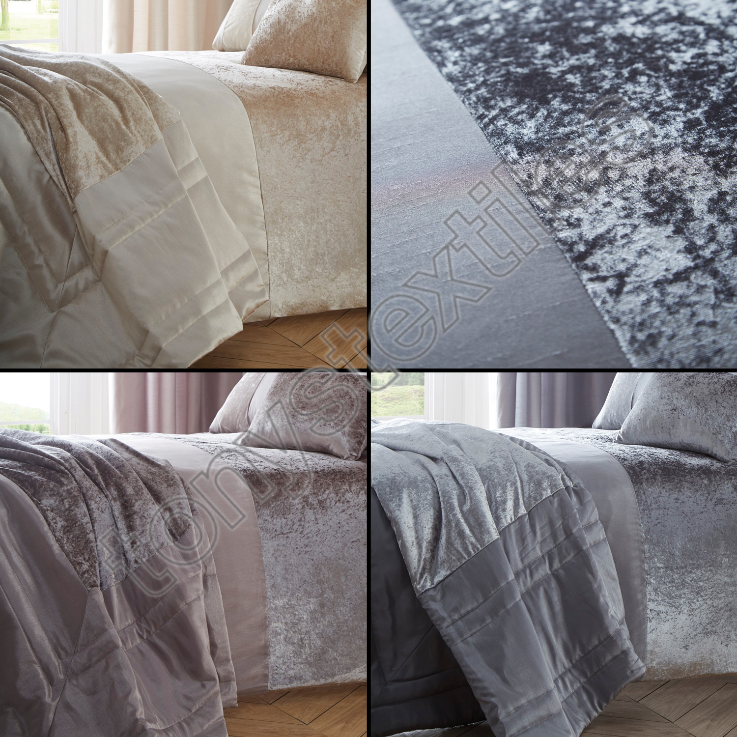 quilted superblackbird bedspread bedding grey coverlet gray velvet bed