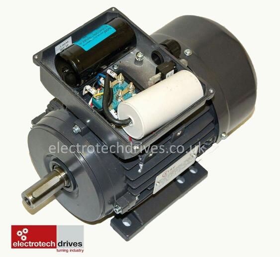 Single phase electric motor 2800rpm 2 pole 3 hp 240v for 2 hp 3 phase motor