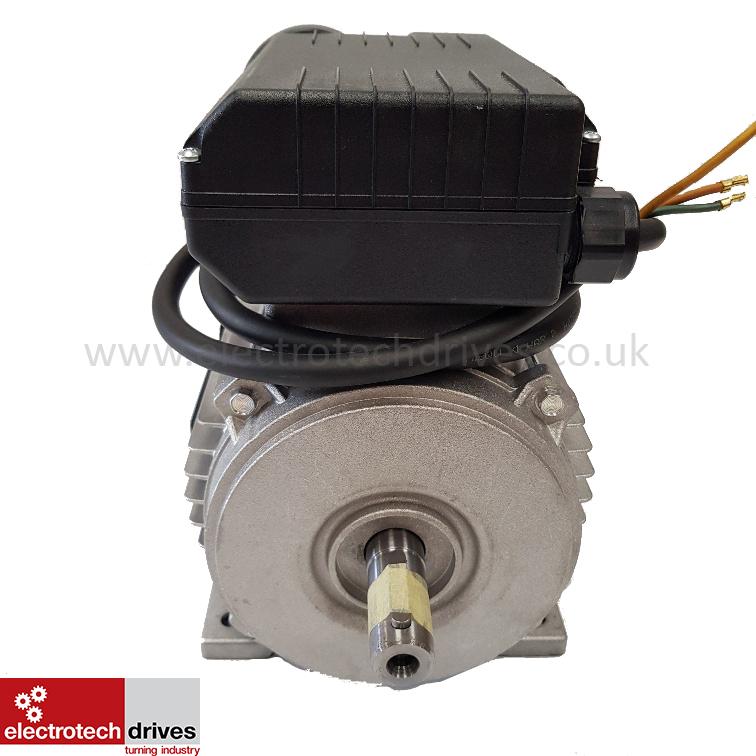 3hp Compressor Motor 2 2kw 2800rpm 2 Pole 240v 19mm Shaft