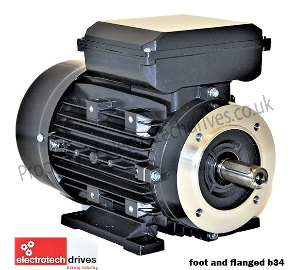 2 2kw 3hp Electric Motor 1400 Rpm 4 Pole 240v Single Phase Electric Motor