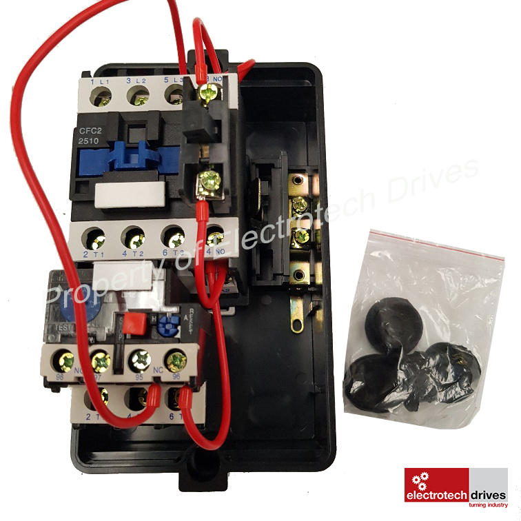 Electric Motor Dol Starter 240v Or 415v Pre Wired