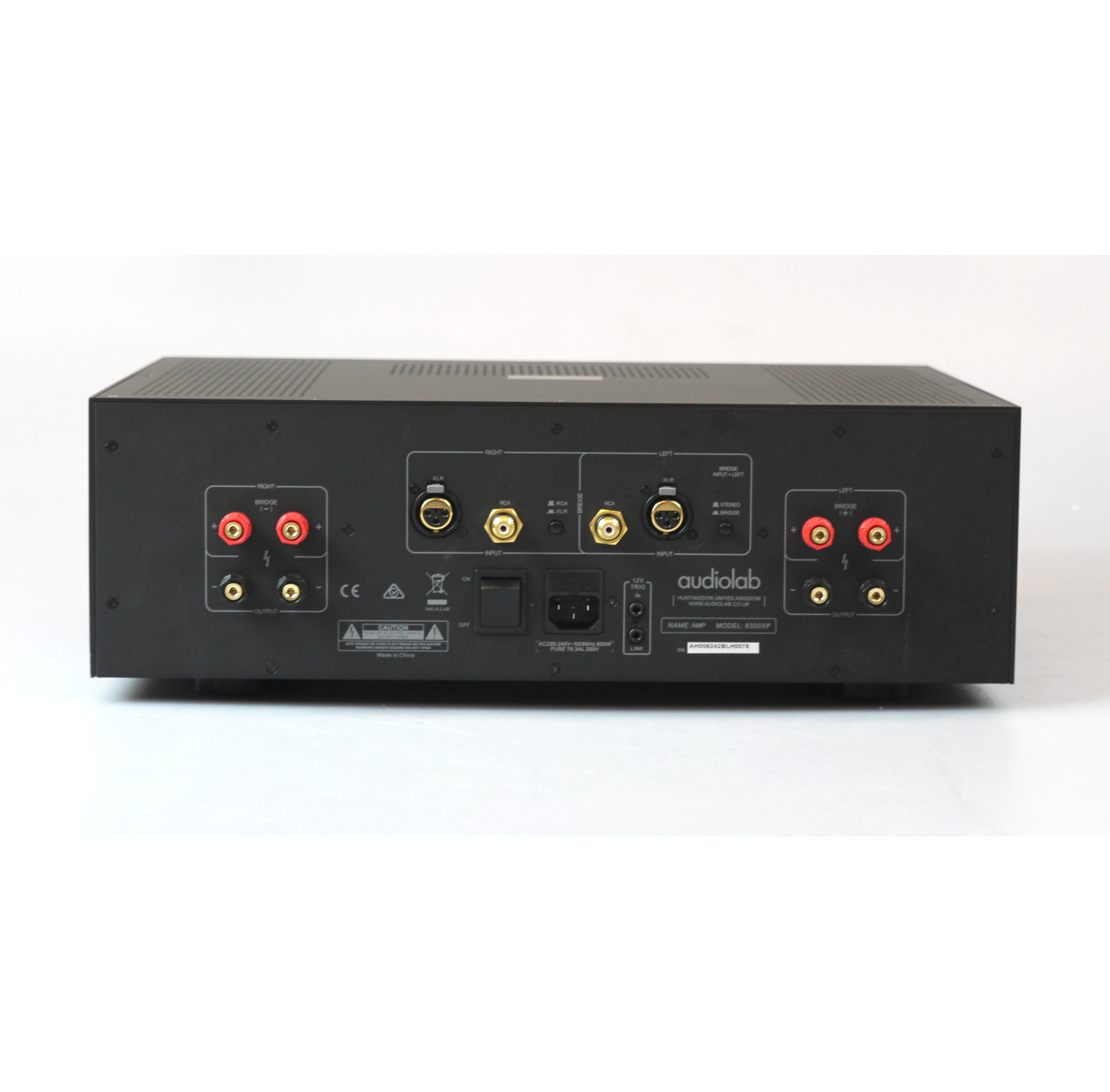 Details about Audiolab 8300XP Stereo Power Amplifier - Home 2 Chennel Audio  Amp