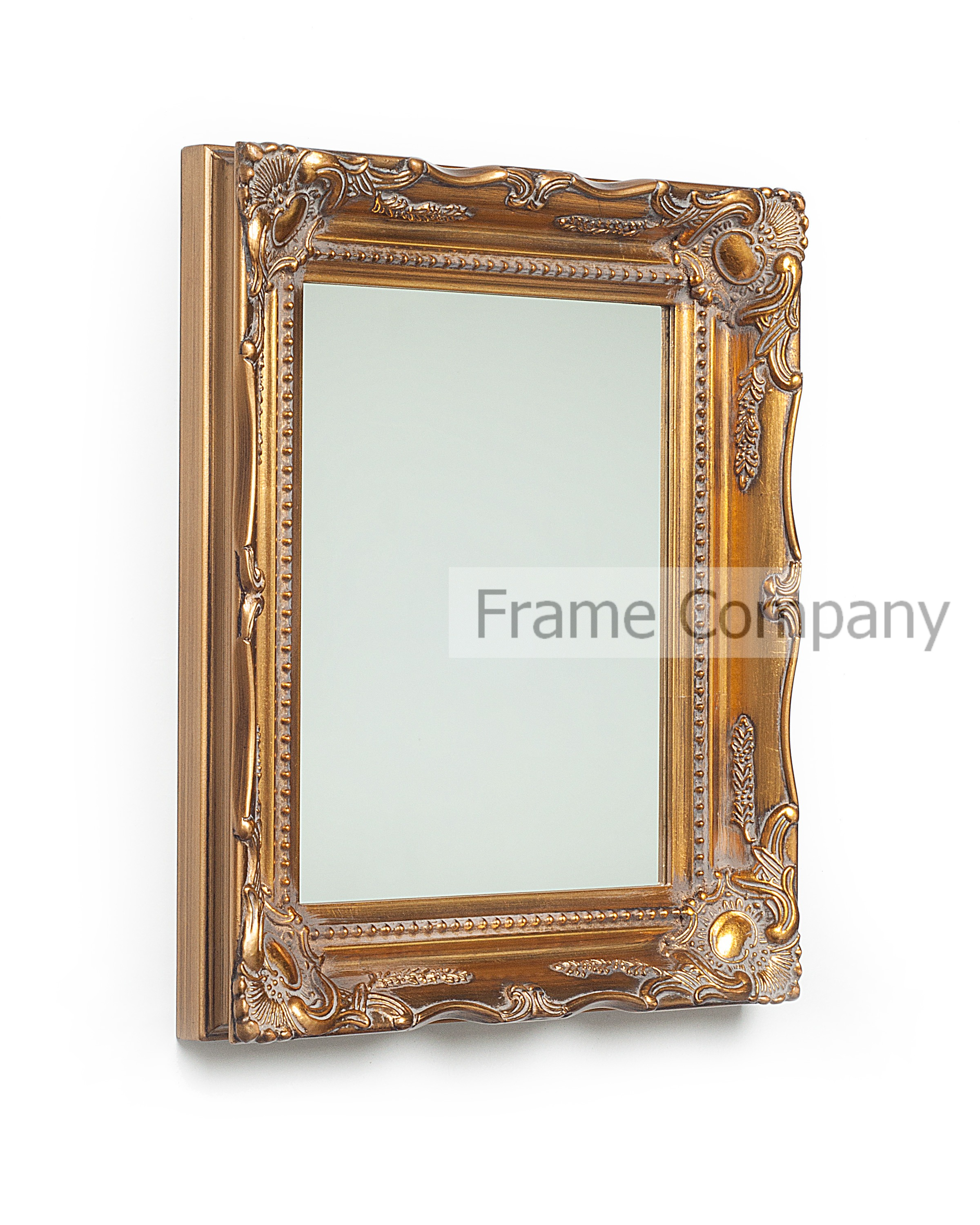 Frame Company Wooden Mirror Classic Swept Ornate Vintage Picture ...