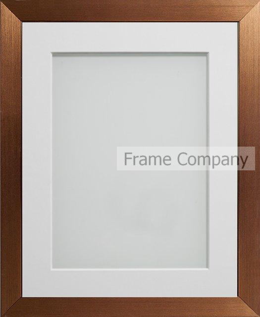 Frame Company Simpson Range Copper Picture Photo Frames with Mount ...
