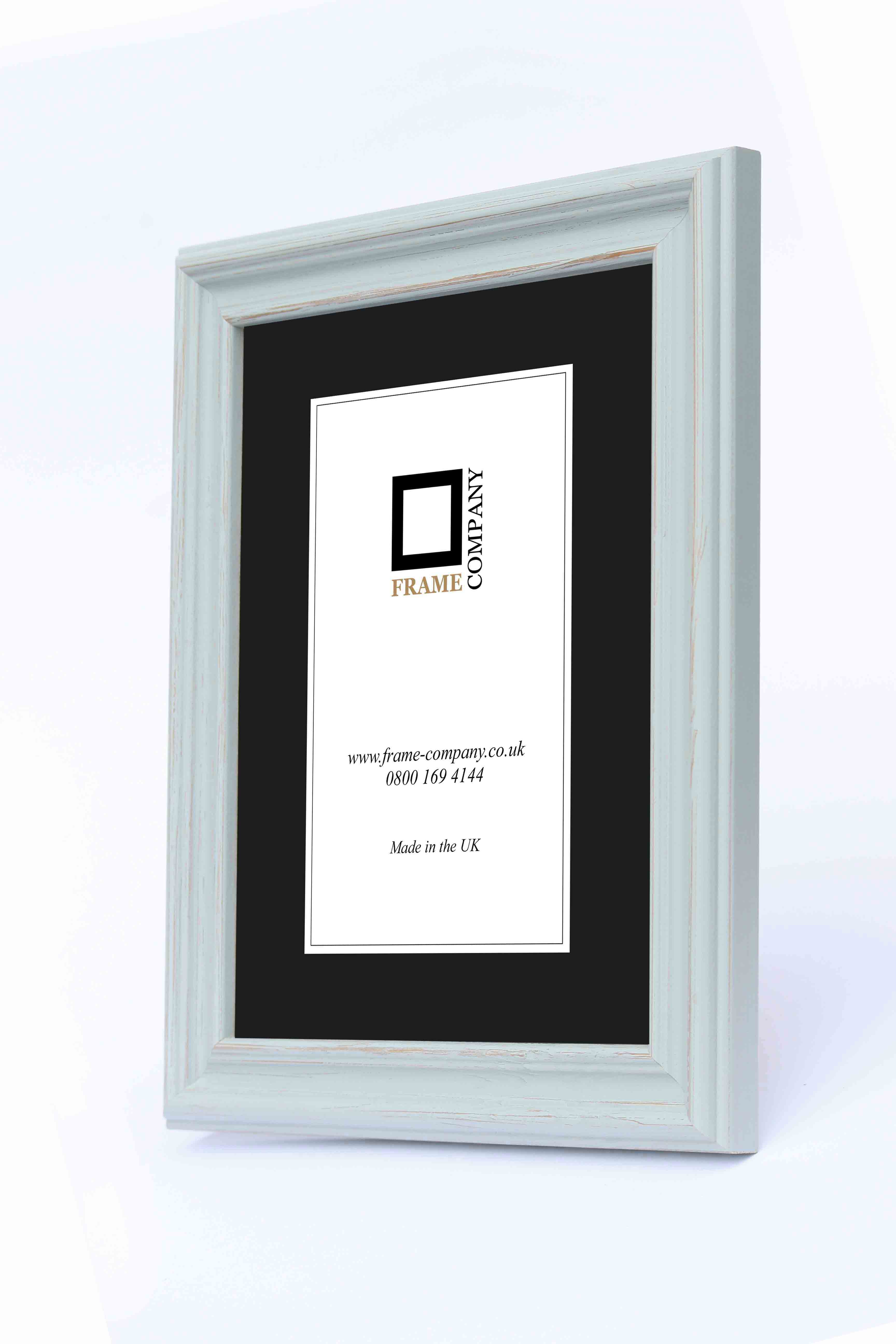Frame Company Campbell Range Rustic Blue Wooden Picture Photo Frames ...