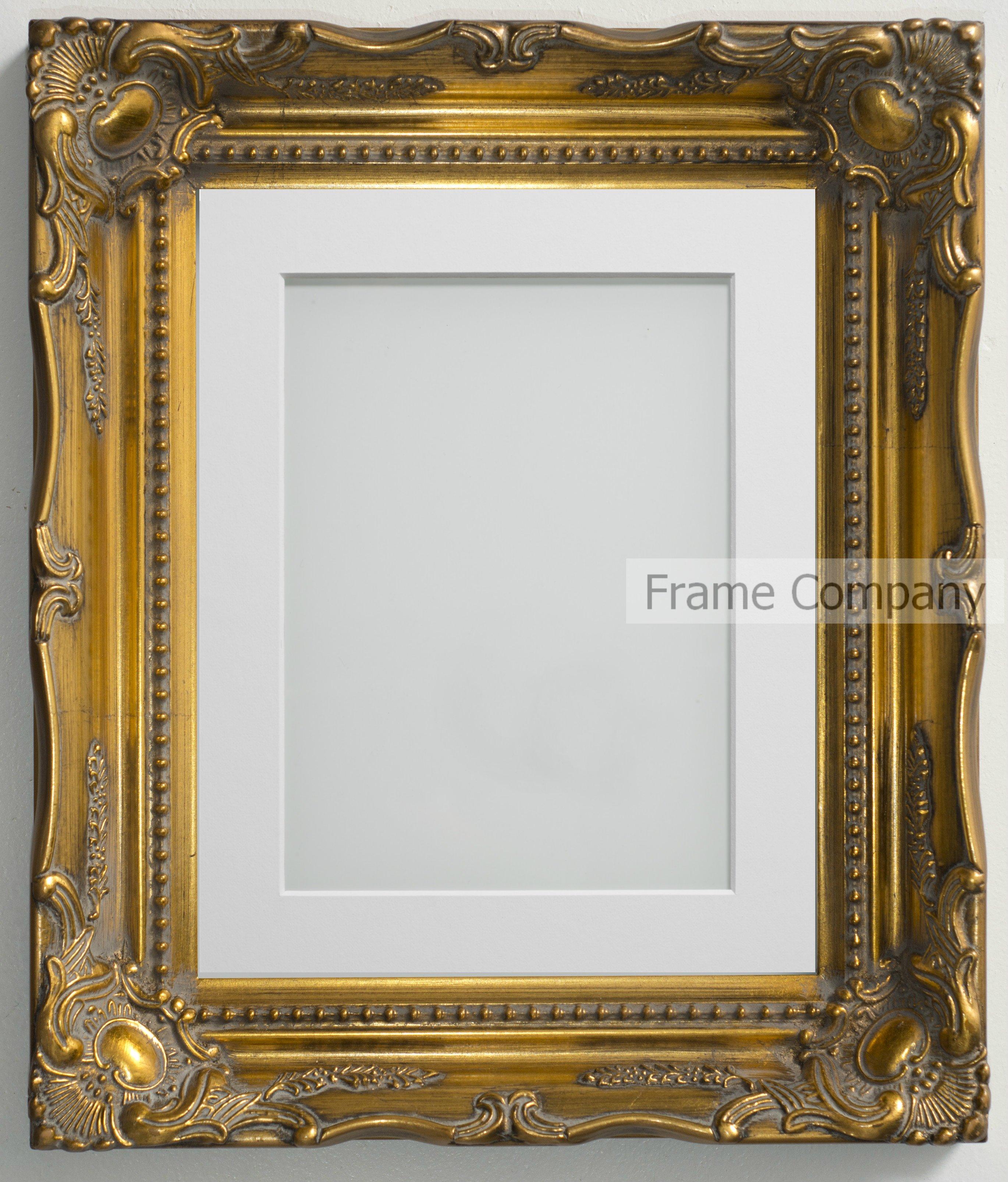 frame company langley range ornate gold picture photo. Black Bedroom Furniture Sets. Home Design Ideas