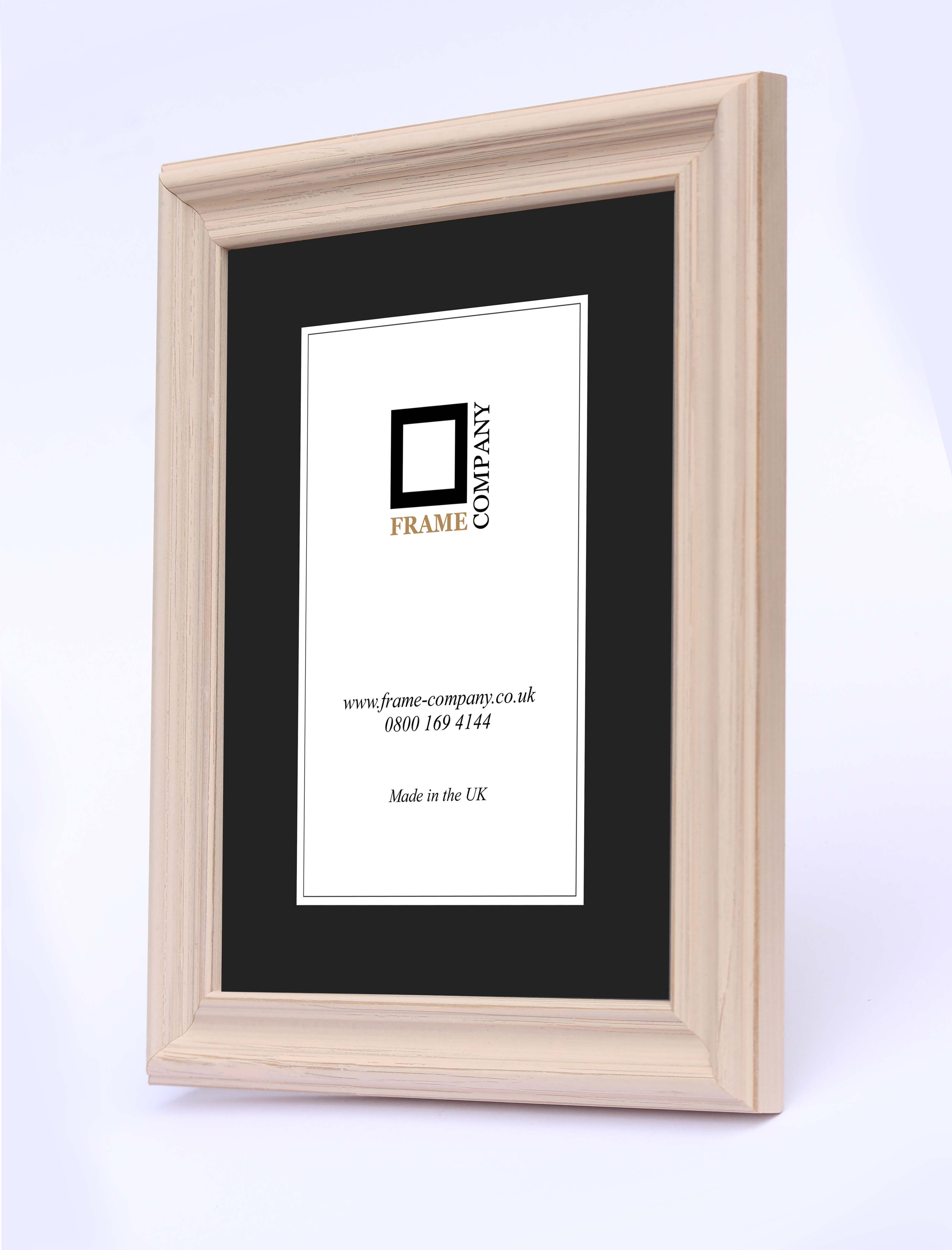 Frame Company Campbell Range Rustic Grey or Pink Wooden Picture ...