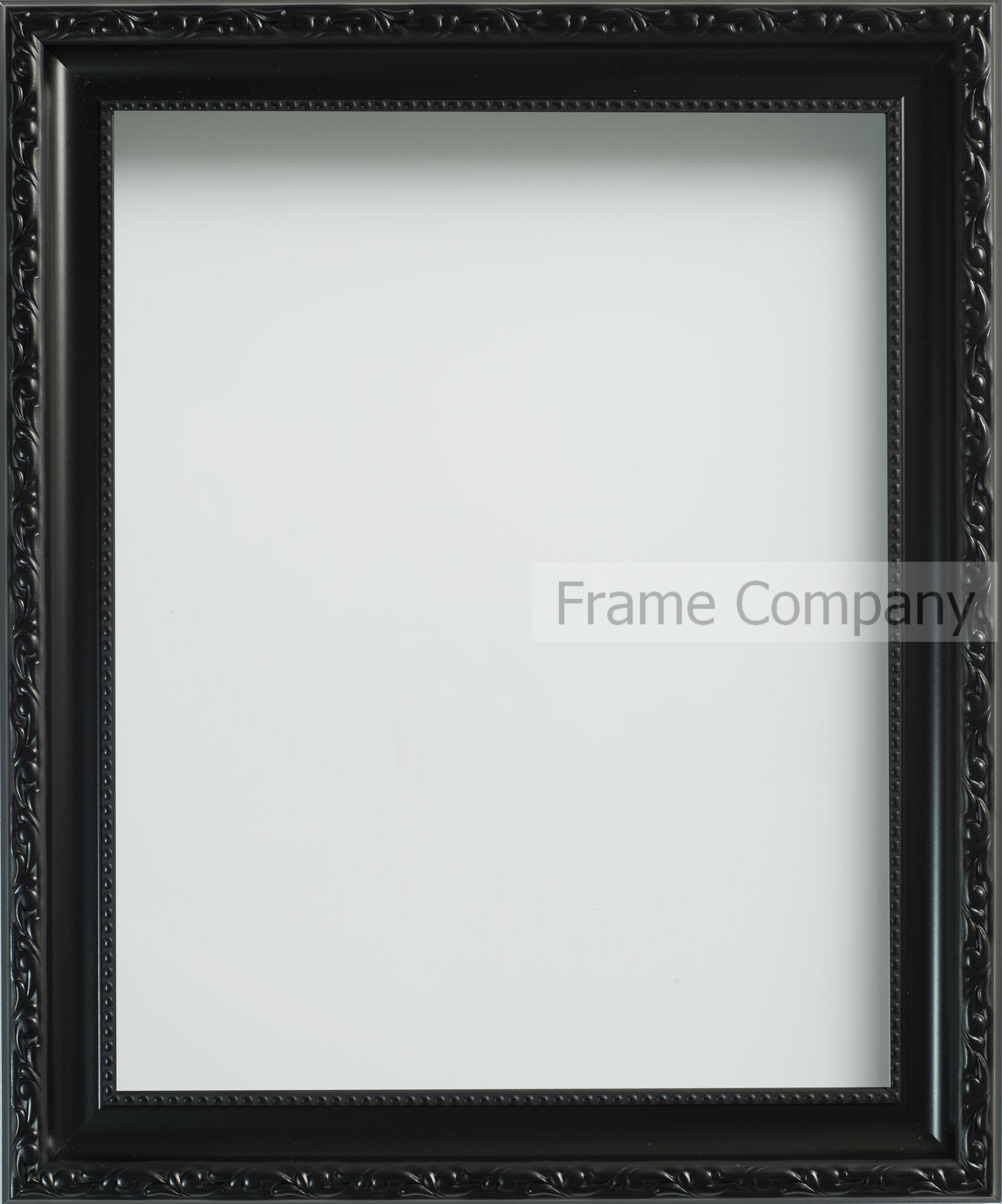 Frame Company Brompton Range Decorative Black /White Ornate Picture ...
