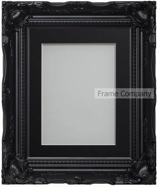 Frame Company Langley Range Ornate Black Picture Photo Frames with ...