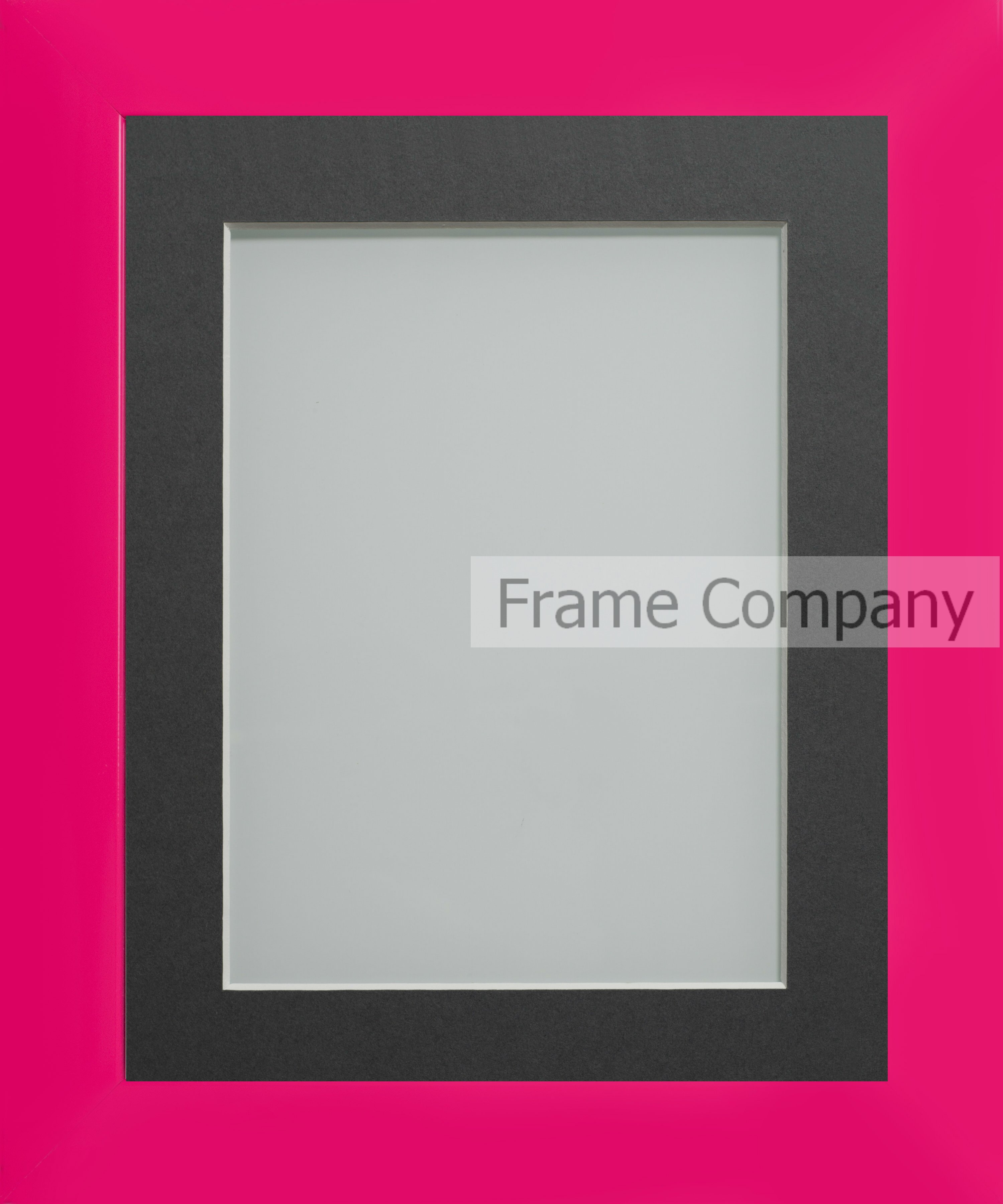 Frame Company Candy Range Hot Pink Picture Photo Frames with Choice ...