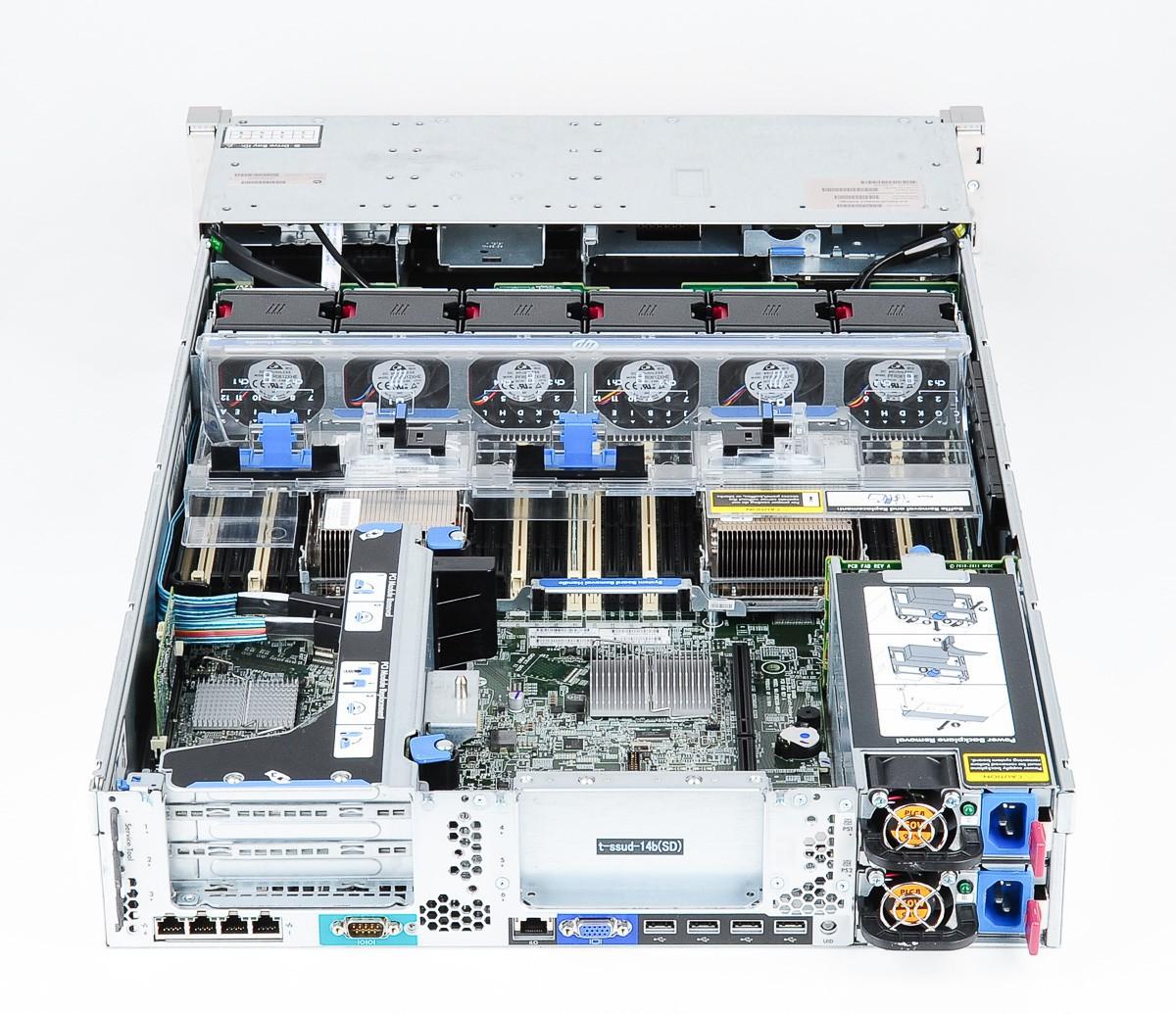 HP DL360p G8 Xeon E5-2630 v2 32GB 10600R RAM No-HDD 2x-460wPSU