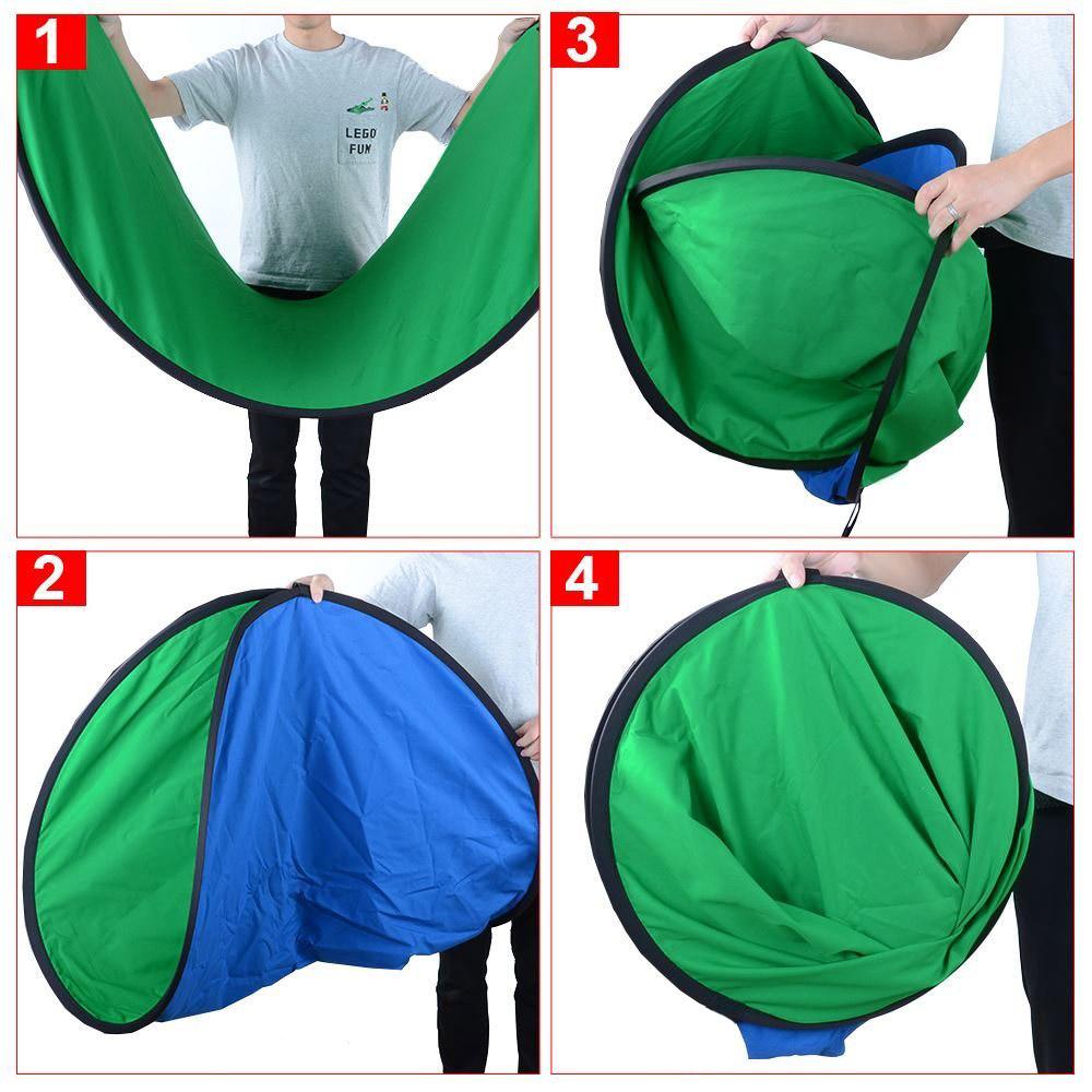 Telón de fondo de fotografía Chromakey Verde y Azulluxlight ®150x200cm ...