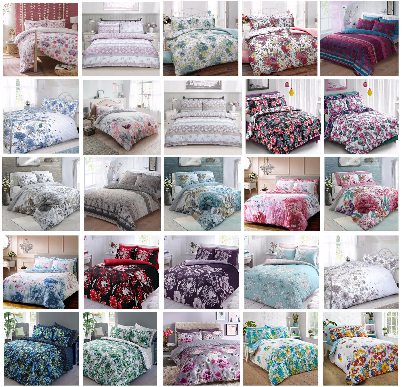 WHITE W//PINK//PURPLE//RED HEARTS SINGLE QUILT//DOONA COVER BNIP HEART