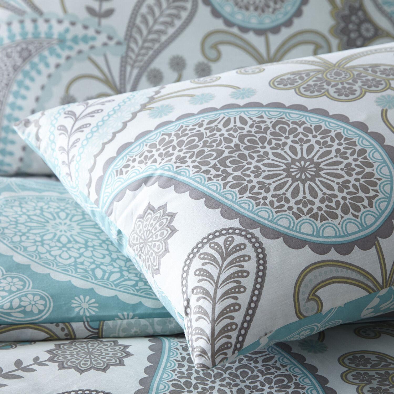 New Paisley Duvet Quilt Bedding Cover Pillowcase Set Shell