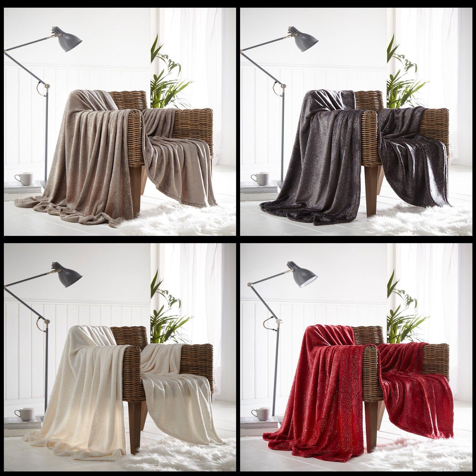 PIERIDAE Soft Fleece Warm RUSTIC STAG Throws Blankets