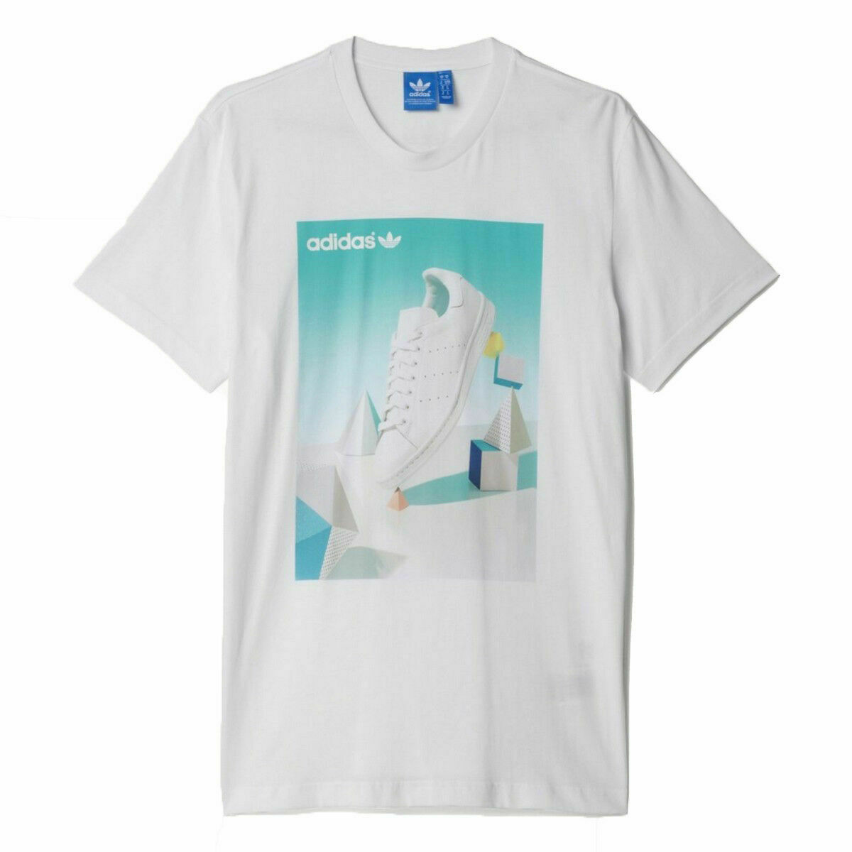 T shirt Adidas Stan Smith Adidas Originals Trefoil, Adidas T