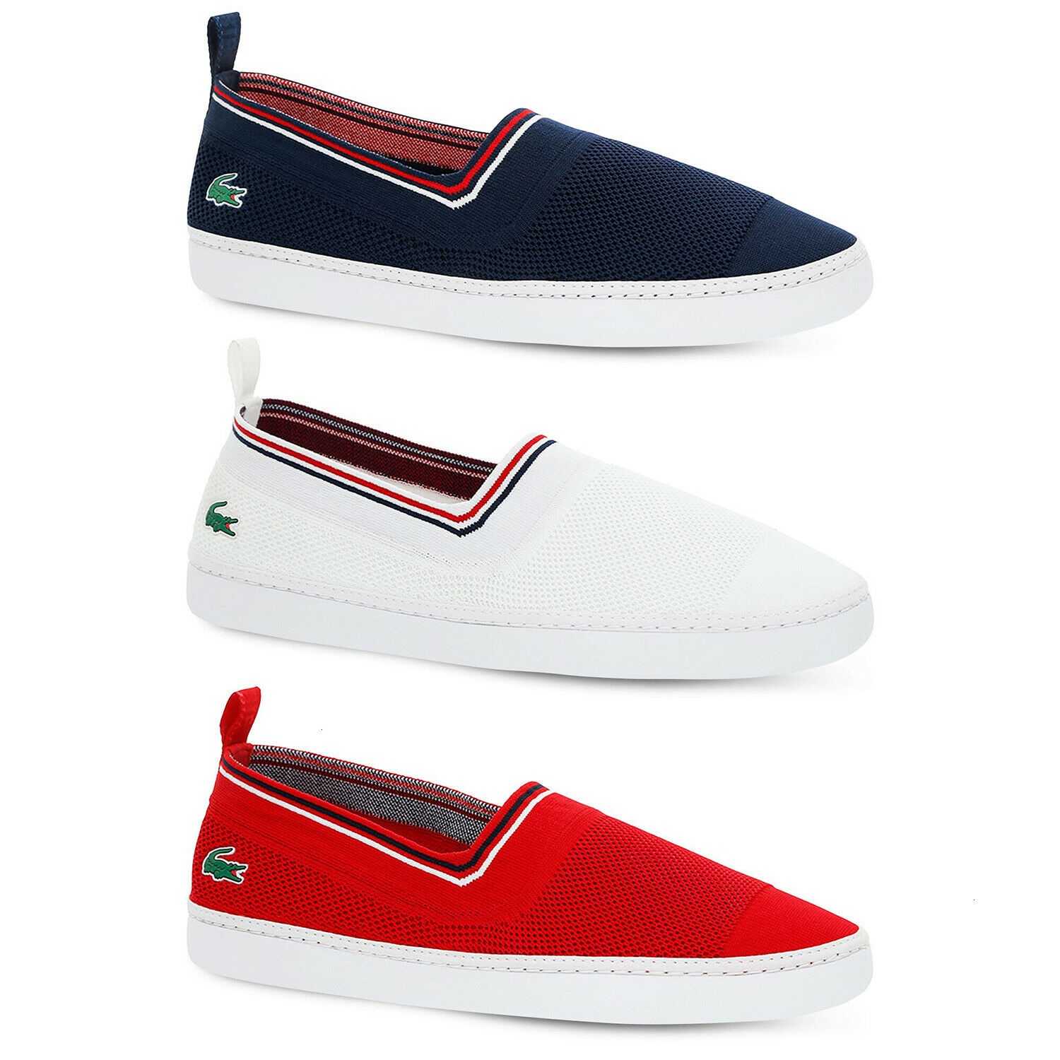 LACOSTE MENS L.YDRO SLIP ON SHOES