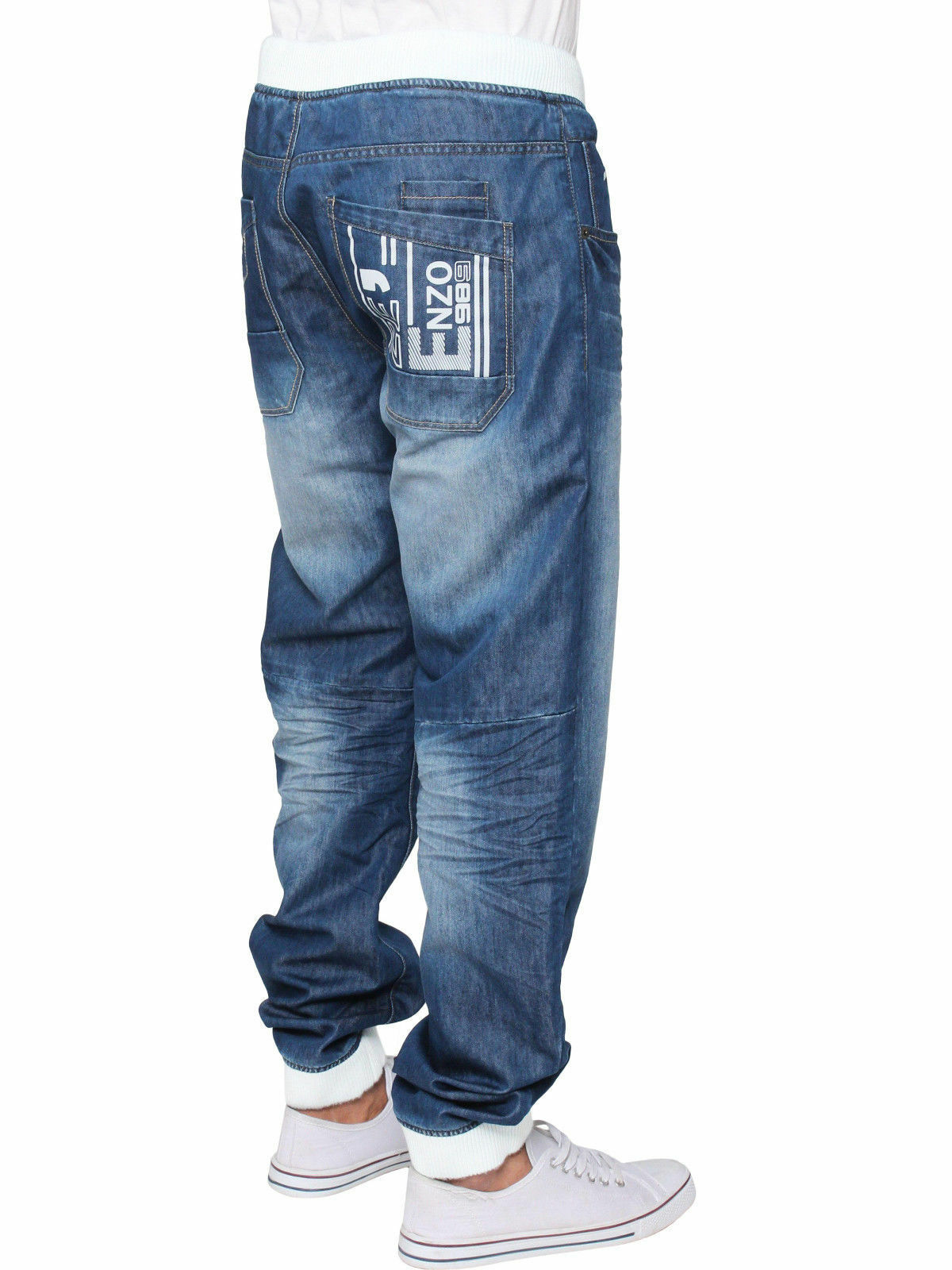 Enzo Boys Kids EZB188 Grey Cuffed Joggers 24 to 29 Reduced